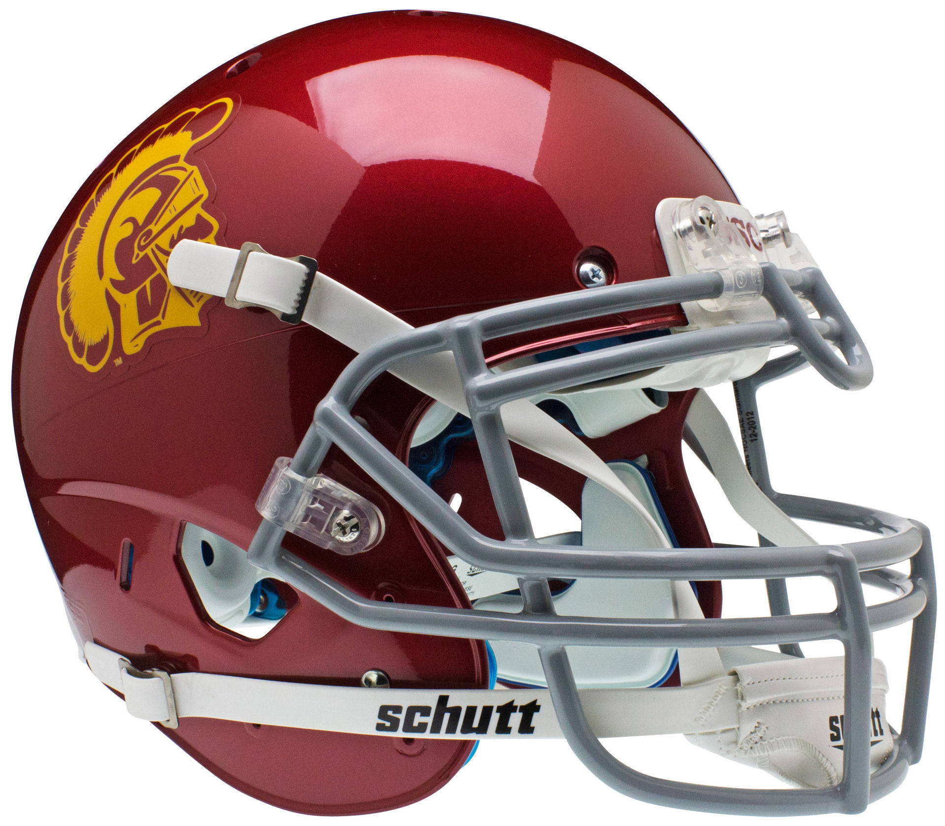 USC Trojans Authentic College XP Football Helmet Schutt