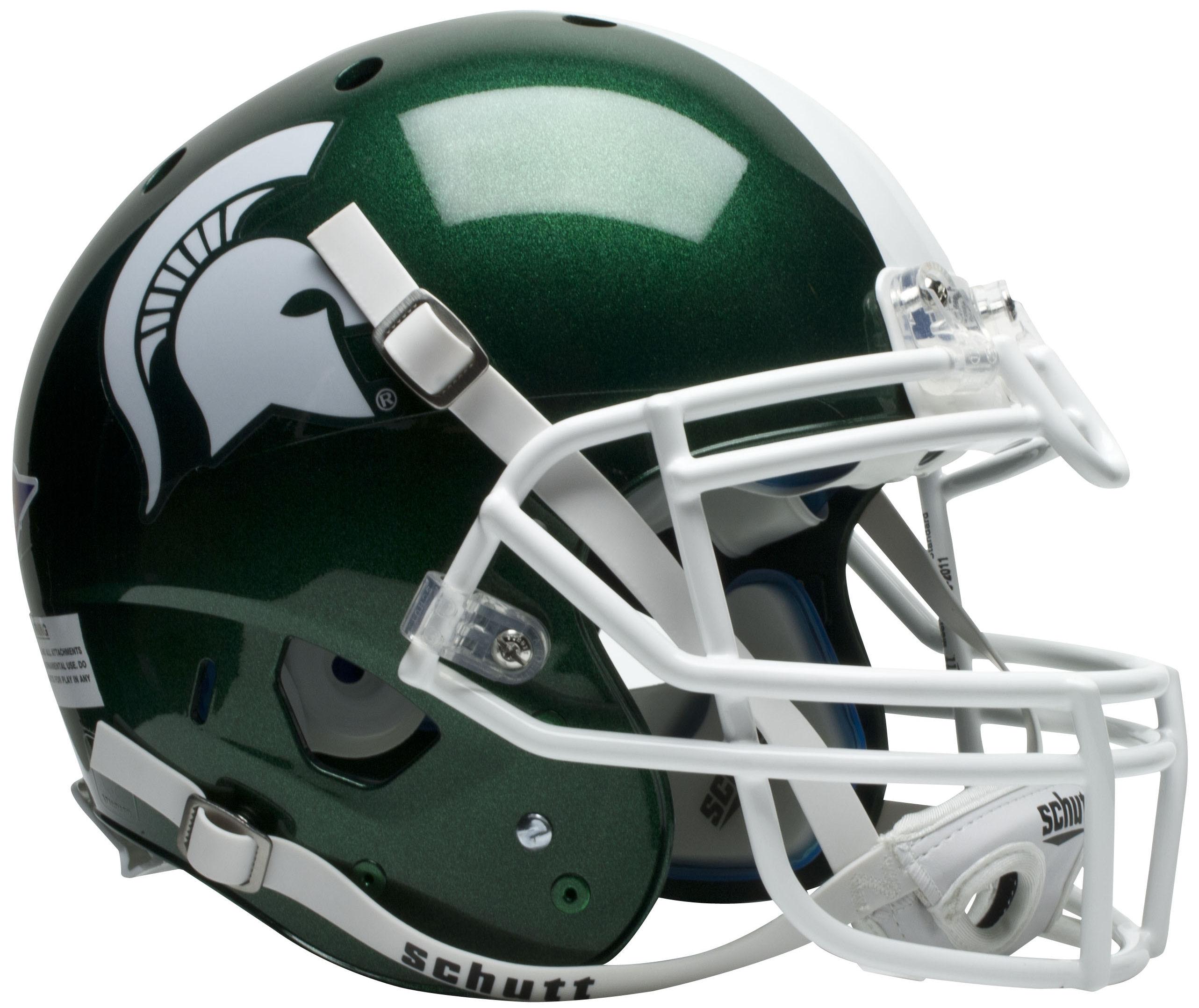 Michigan State Spartans Authentic College XP Football Helmet Schutt