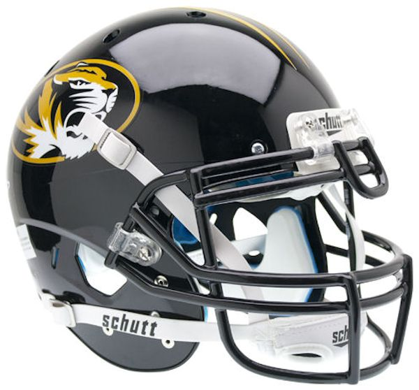 Missouri Tigers Authentic College XP Football Helmet Schutt