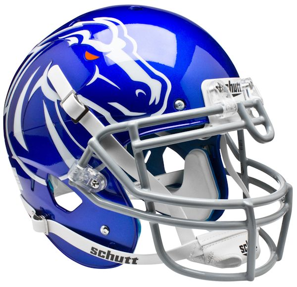 Boise State Broncos Authentic College XP Football Helmet Schutt