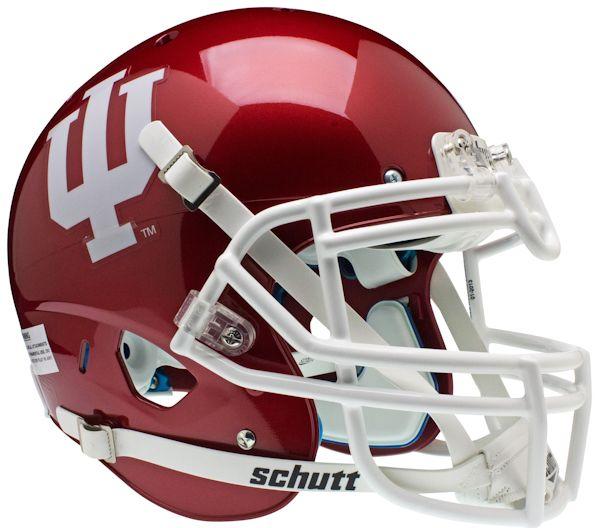 Indiana Hoosiers Authentic College XP Football Helmet Schutt