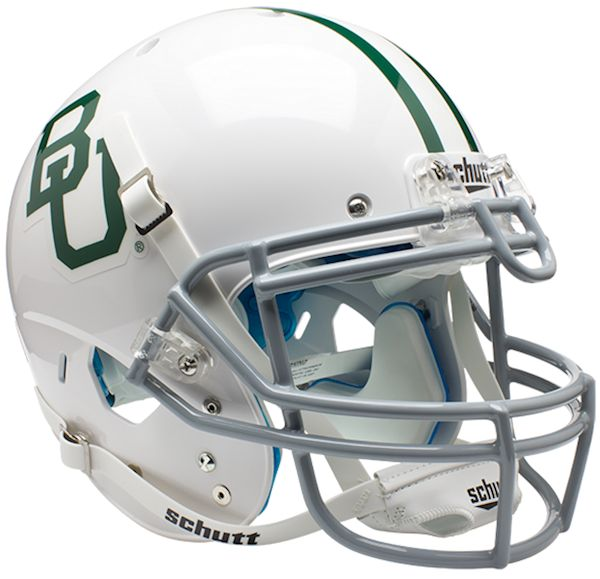 Baylor Bears Authentic College XP Football Helmet Schutt <B>White</B>