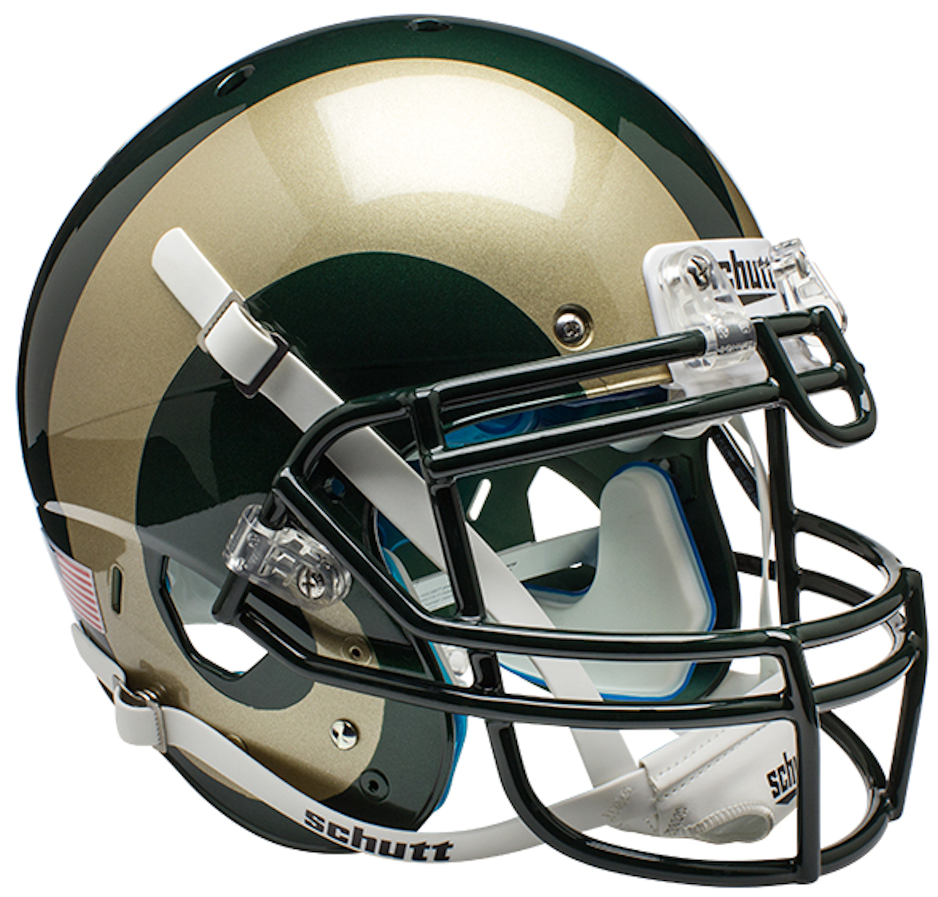 Colorado State Rams Authentic College XP Football Helmet Schutt