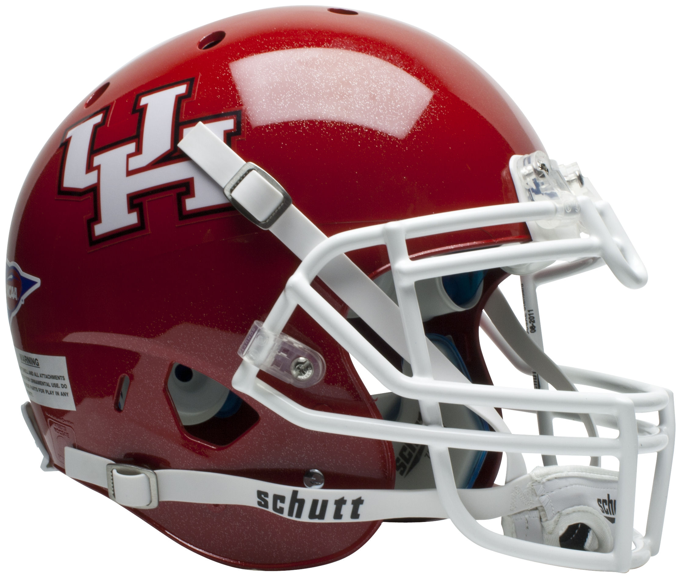 Houston Cougars Authentic College XP Football Helmet Schutt