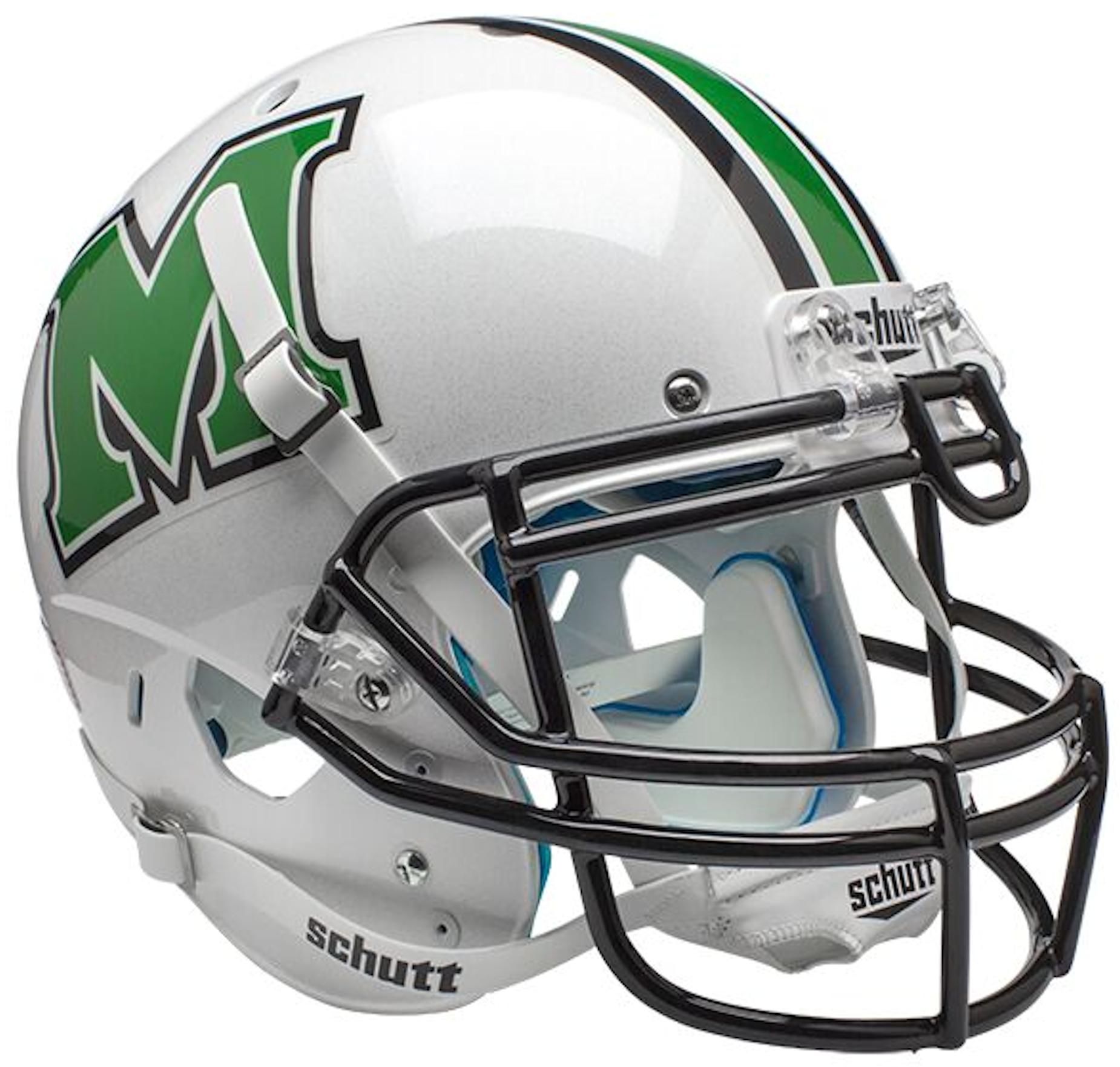 Marshall Thundering Herd Authentic College XP Football Helmet Schutt