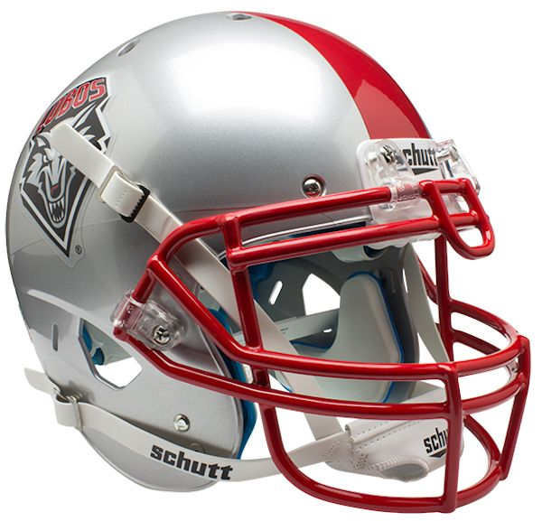 New Mexico Lobos Authentic College XP Football Helmet Schutt
