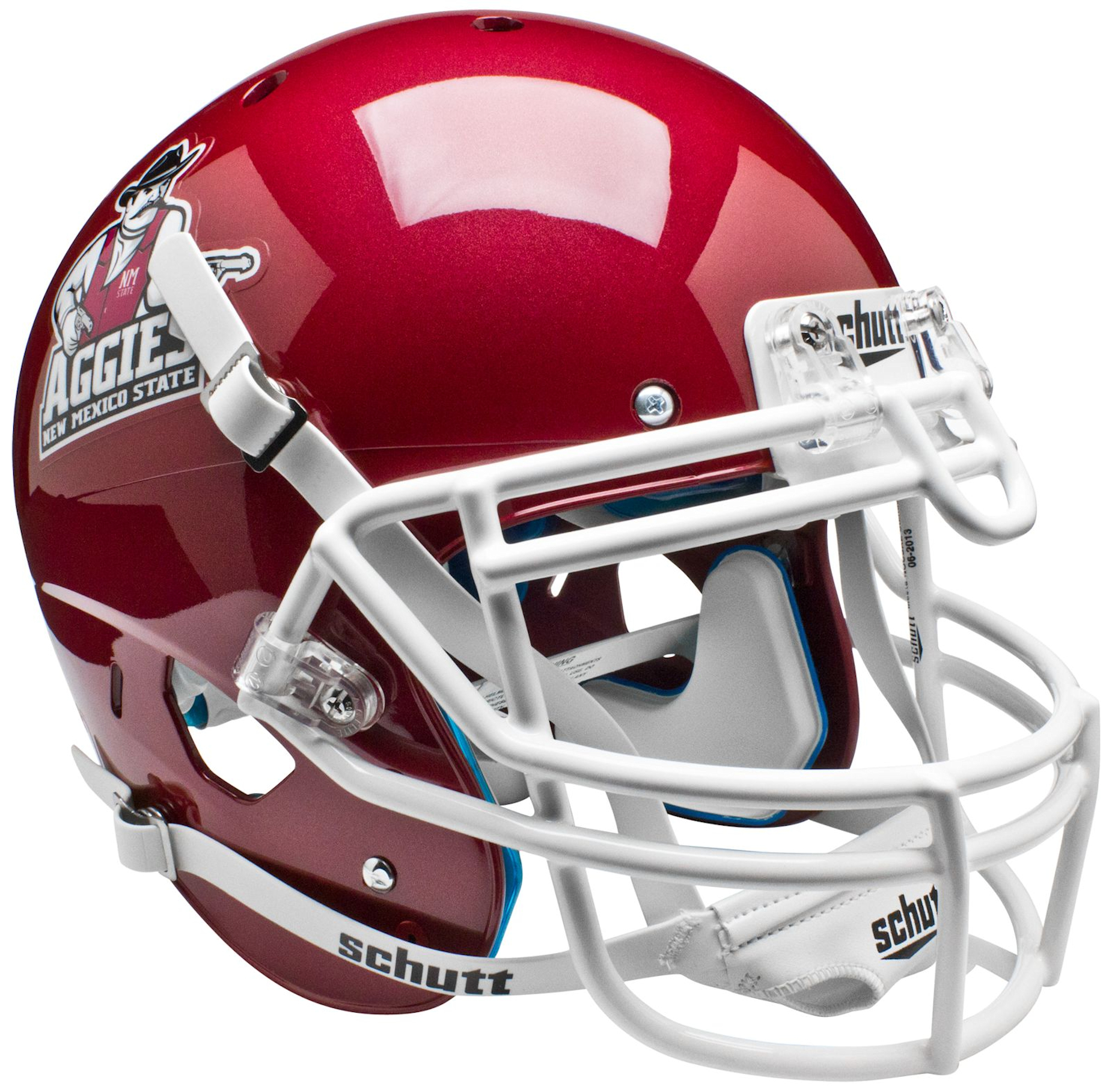 New Mexico State Aggies Authentic College XP Football Helmet Schutt