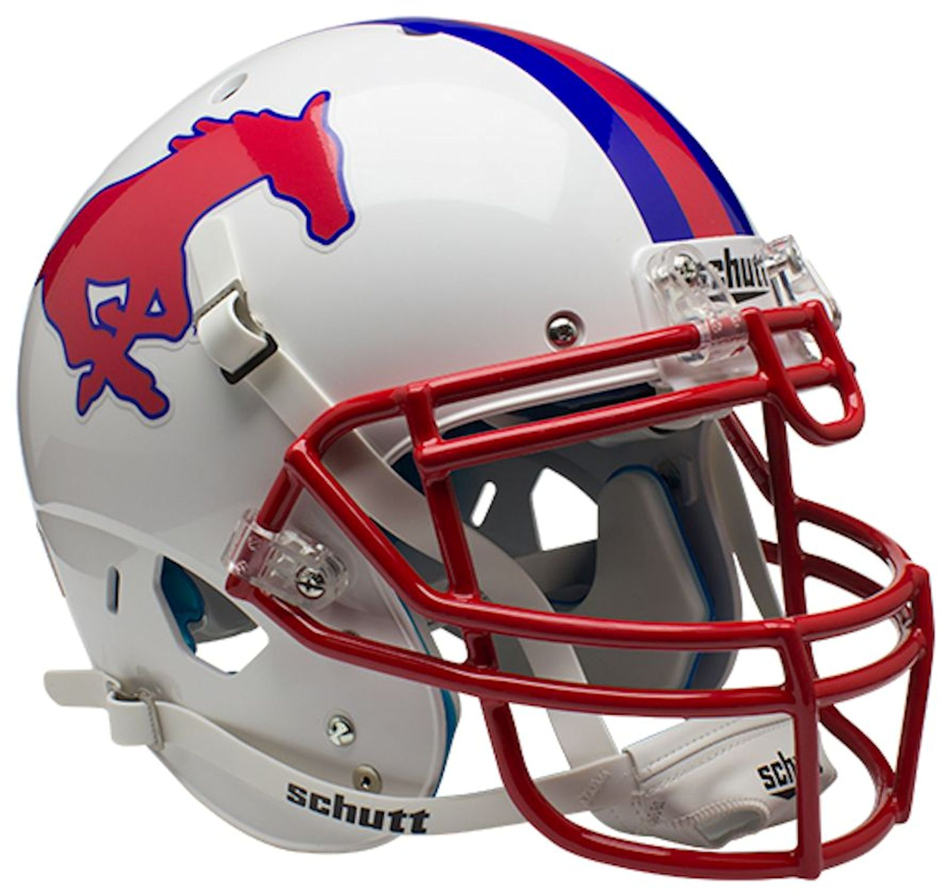 Southern Methodist (SMU) Mustangs Authentic College XP Football Helmet Schutt