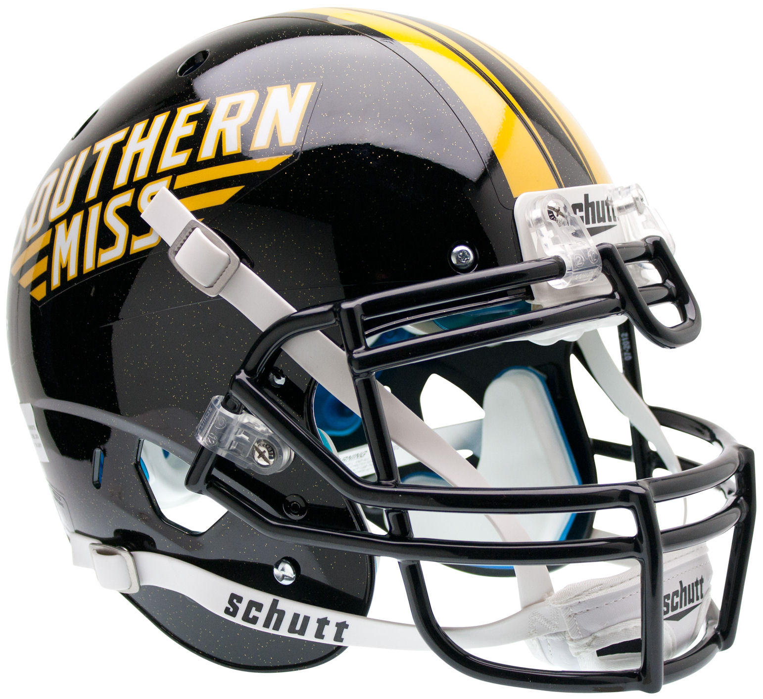 Southern Mississippi Golden Eagles Authentic College XP Football Helmet Schutt