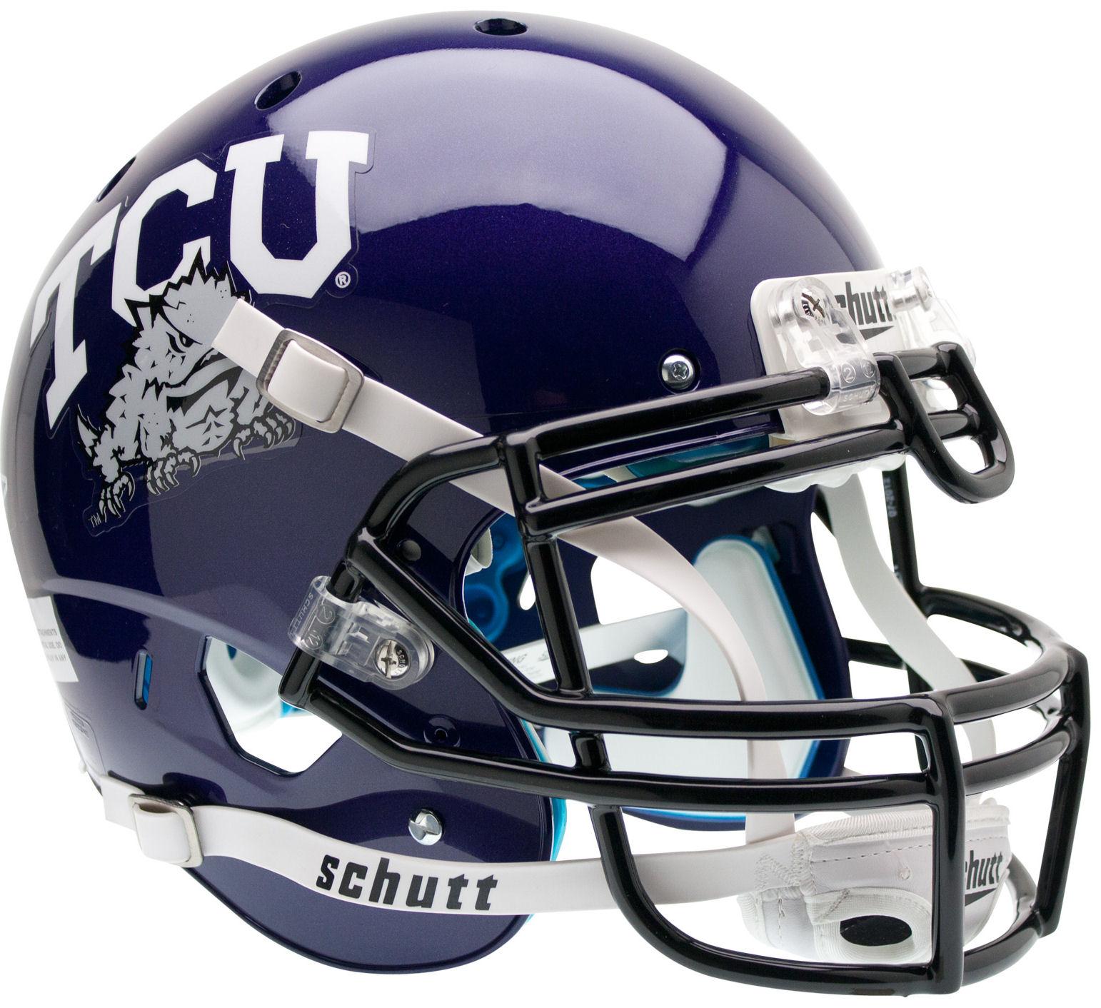 TCU Horned Frogs Authentic College XP Football Helmet Schutt