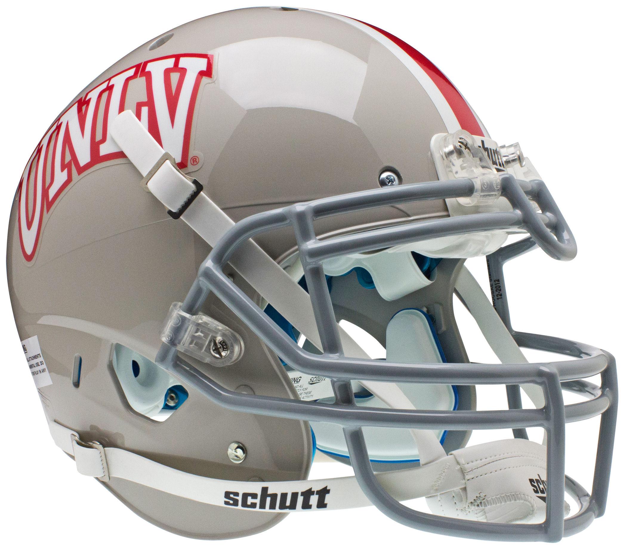 UNLV Runnin Rebels Authentic College XP Football Helmet Schutt