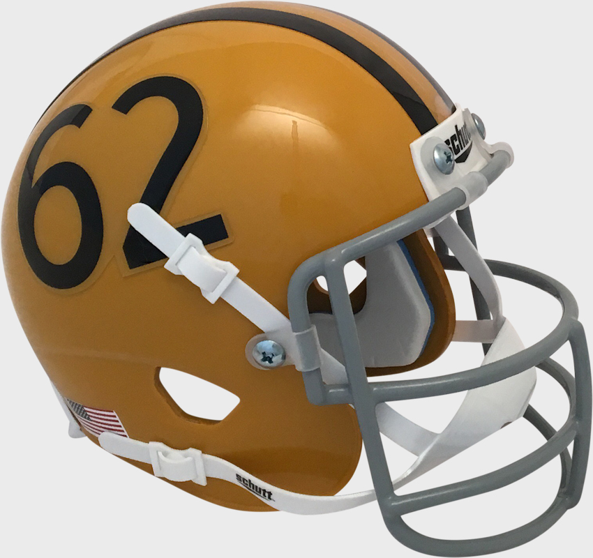 Colorado Buffaloes 1962 Schutt Mini Authentic Throwback Helmet