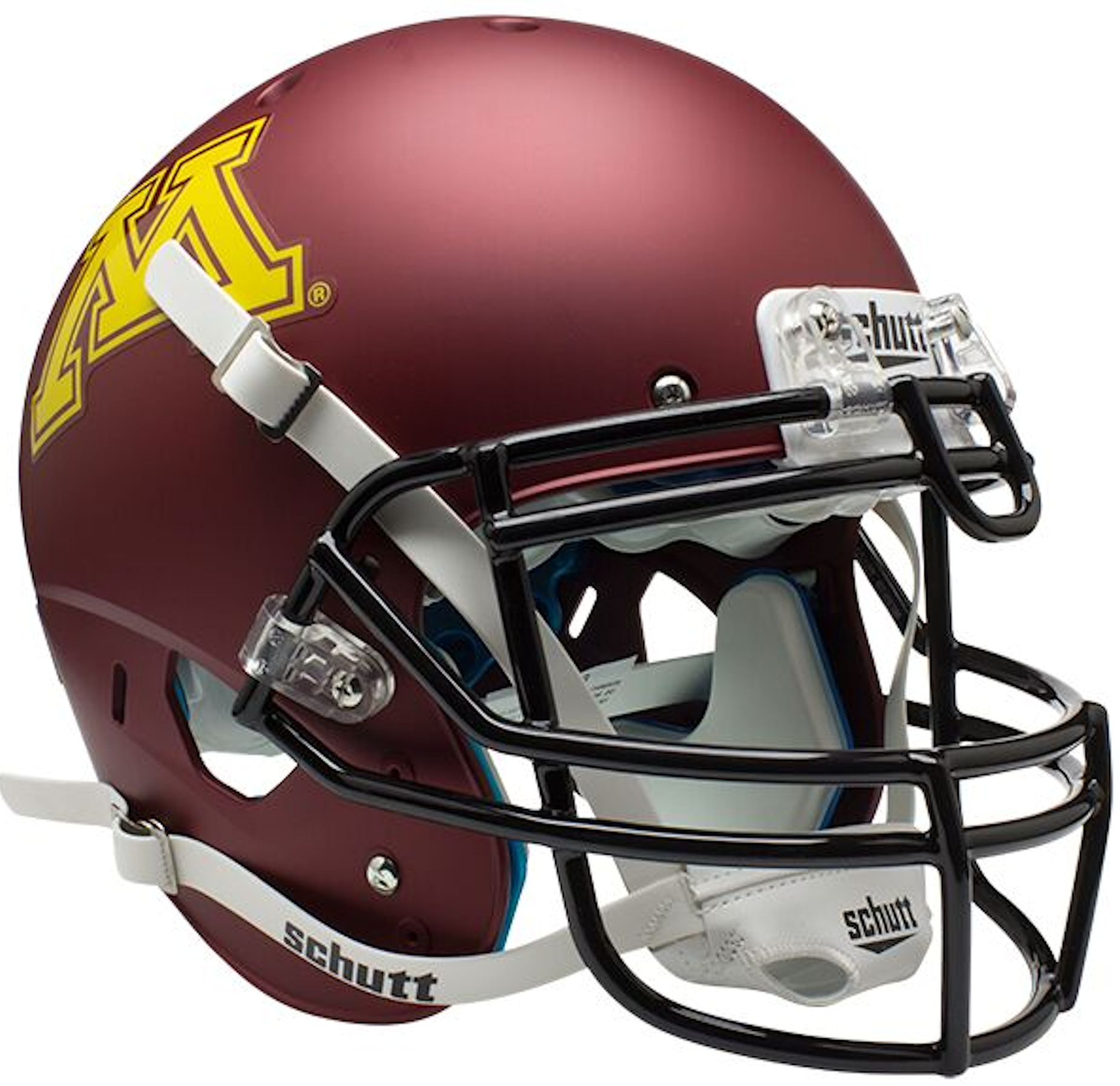 Minnesota Golden Gophers Authentic College XP Football Helmet Schutt <B>Matte</B>