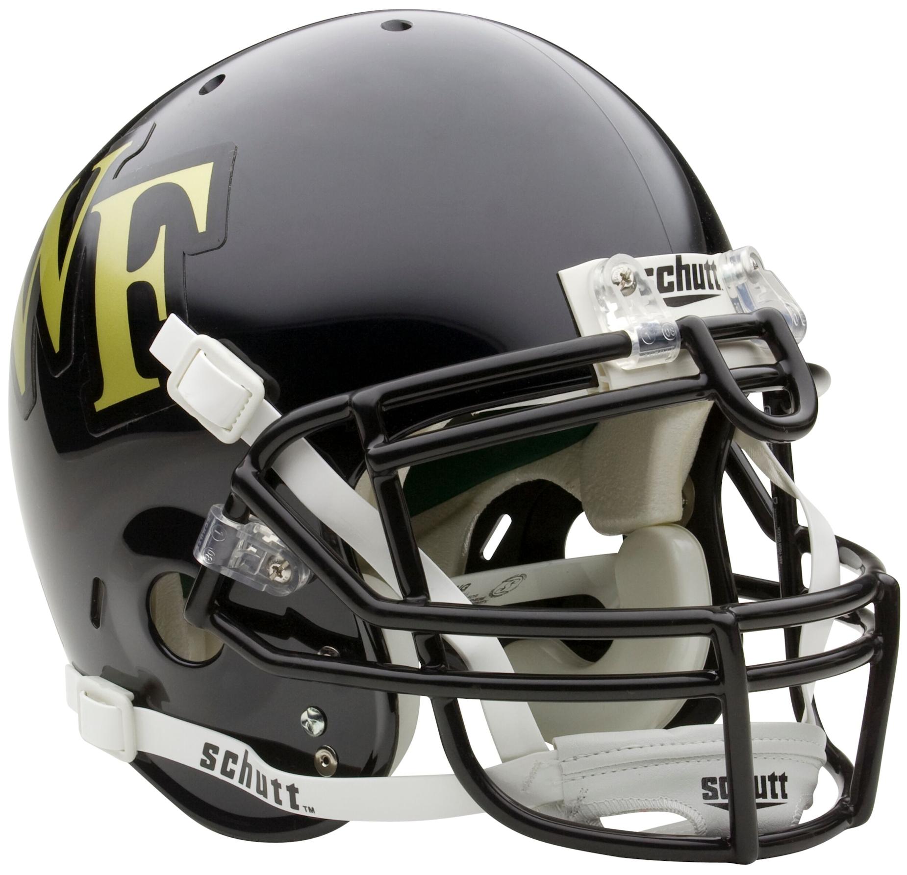 Wake Forest Demon Deacons Authentic College XP Football Helmet Schutt