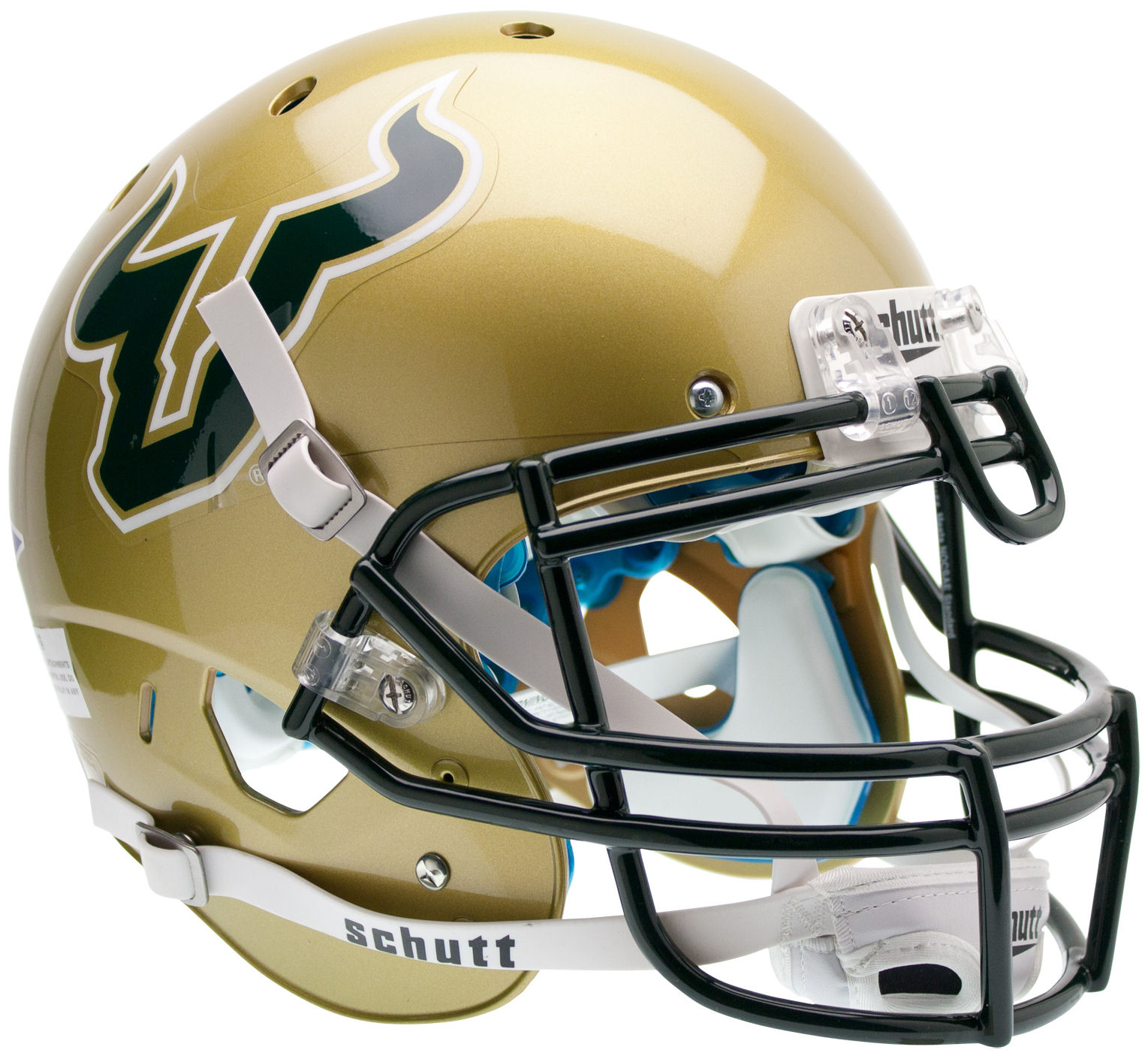South Florida Bulls Authentic College XP Football Helmet Schutt