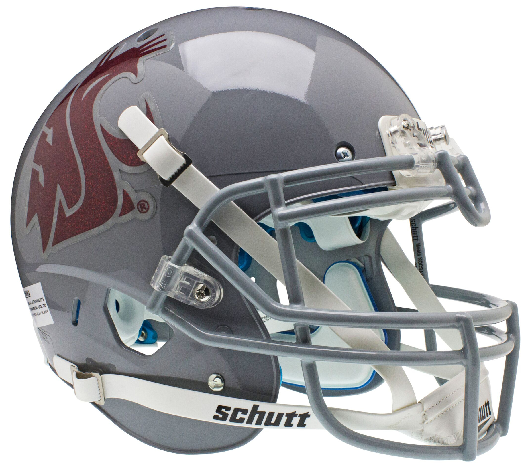 Washington State Cougars Authentic College XP Football Helmet Schutt