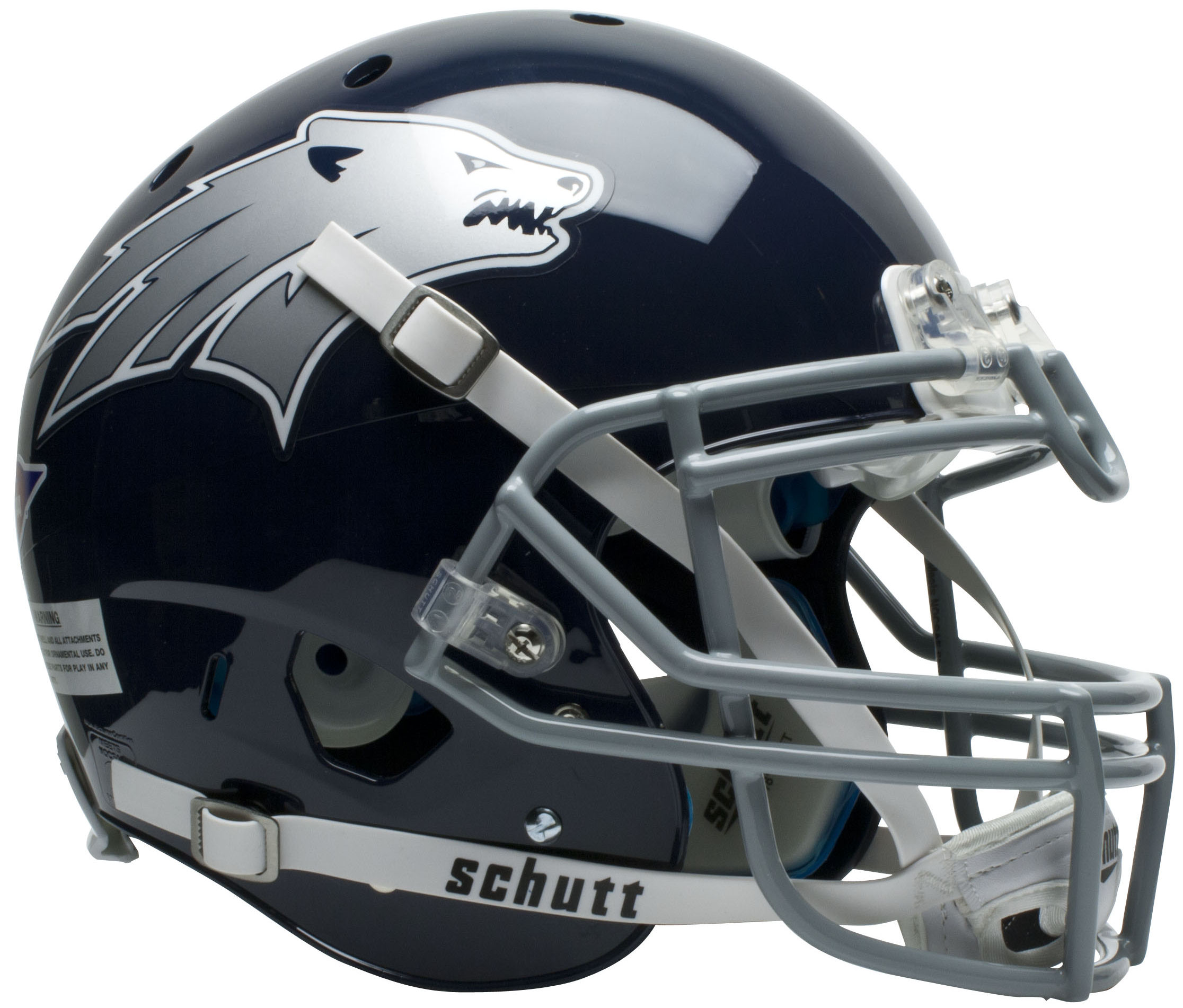 Nevada Wolfpack Authentic College XP Football Helmet Schutt