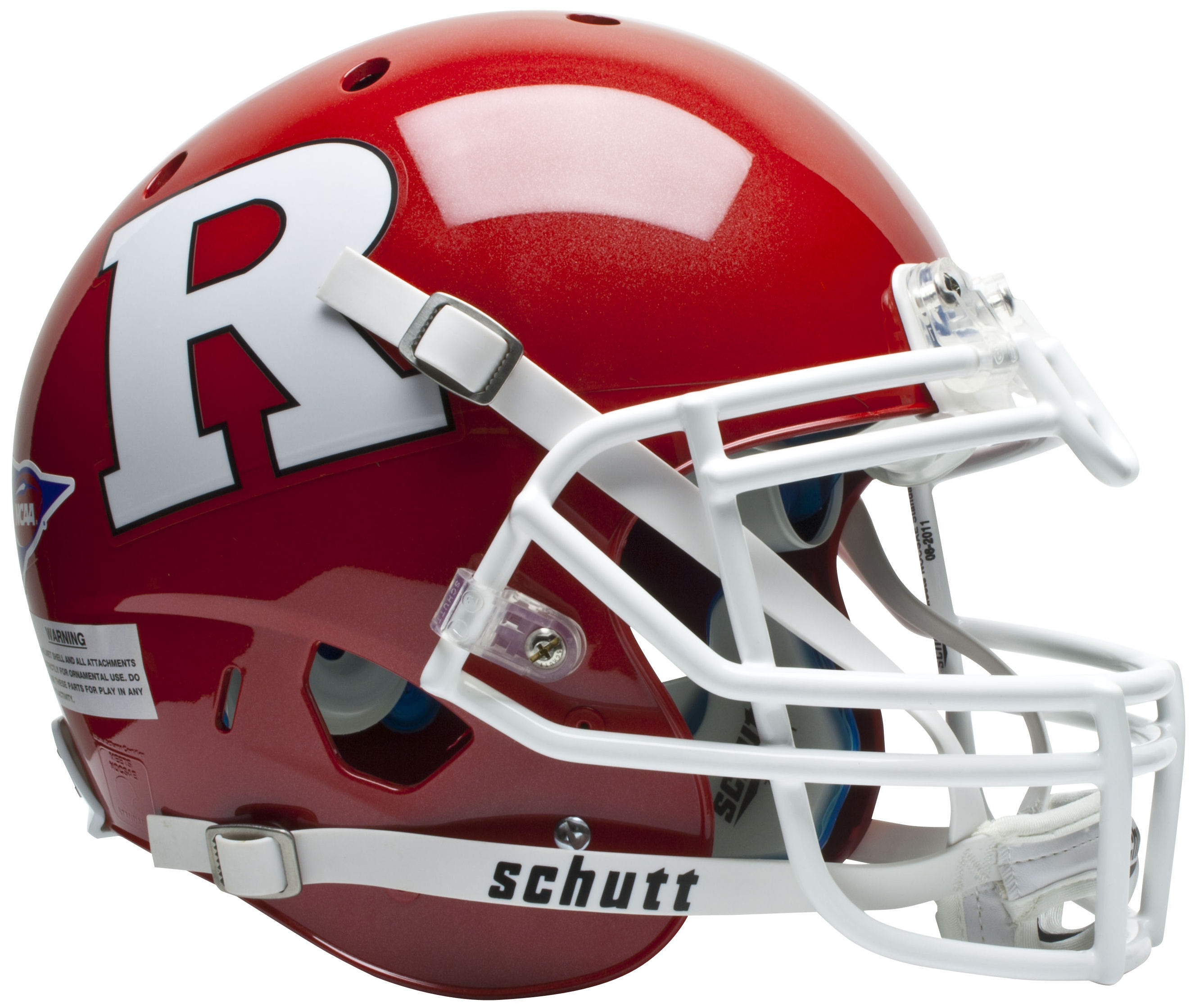 Rutgers Scarlet Knights Authentic College XP Football Helmet Schutt