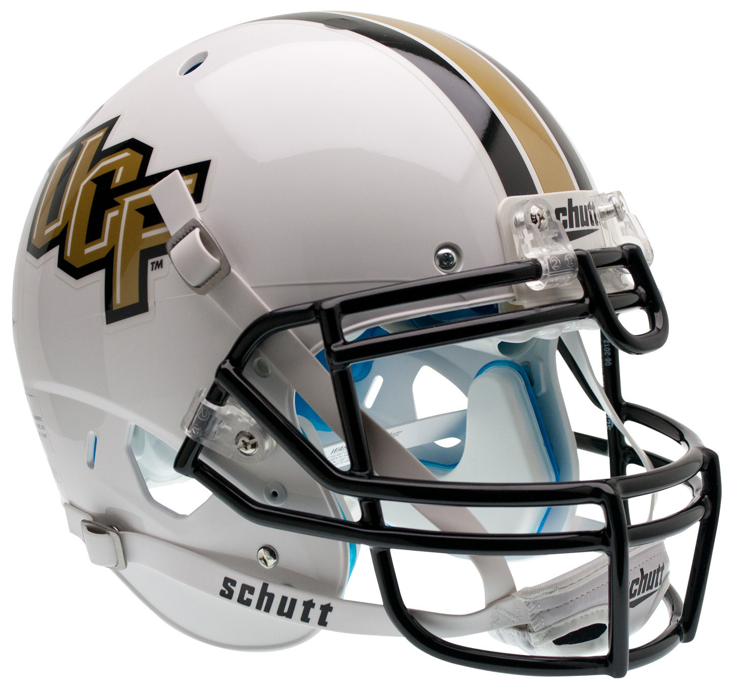 Central Florida Golden Knights Authentic College XP Football Helmet Schutt