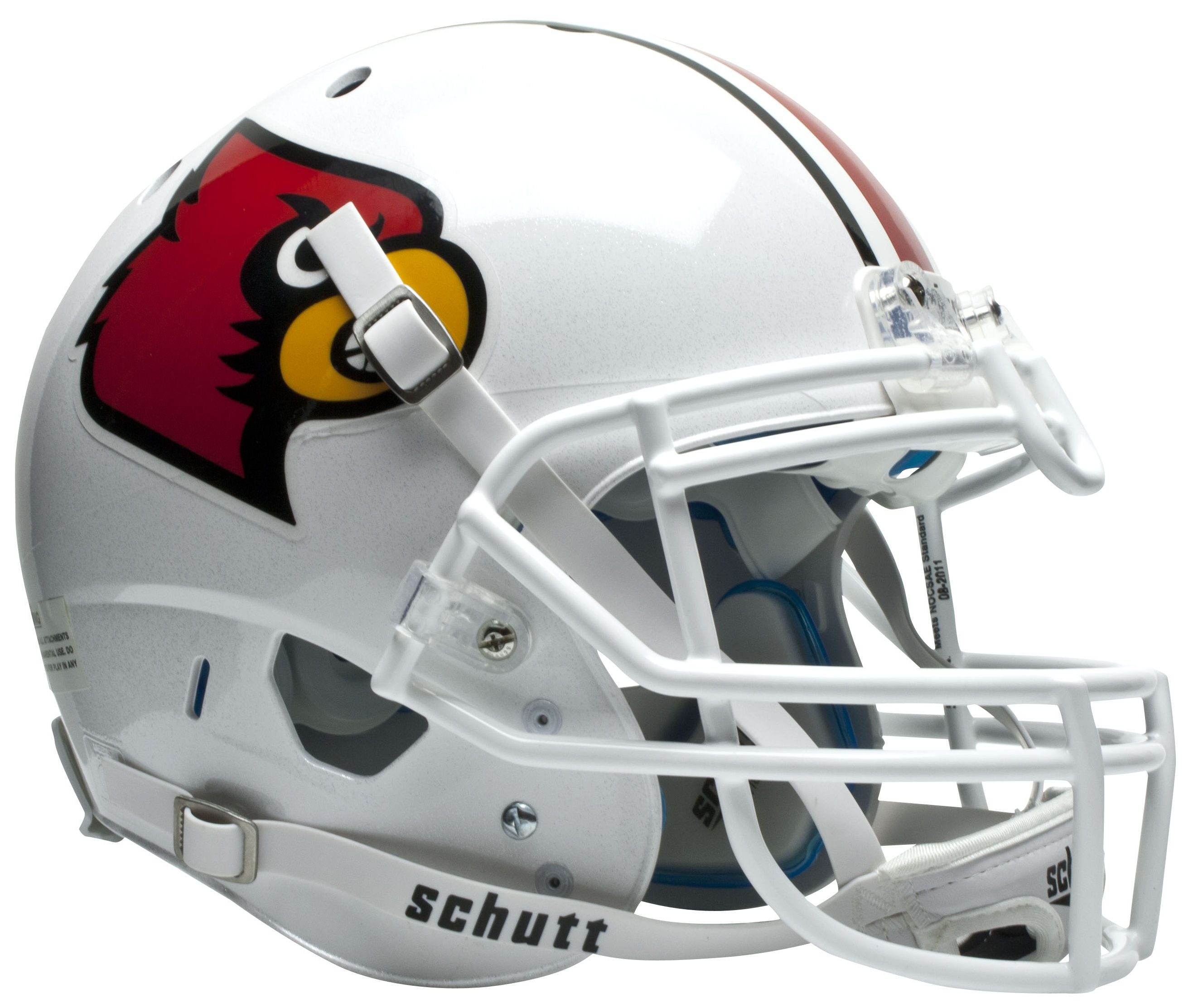 Louisville Cardinals Authentic College XP Football Helmet Schutt