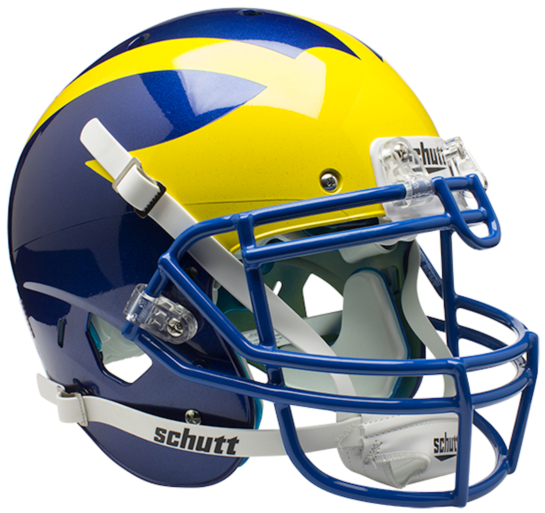 Delaware Blue Hens Authentic College XP Football Helmet Schutt