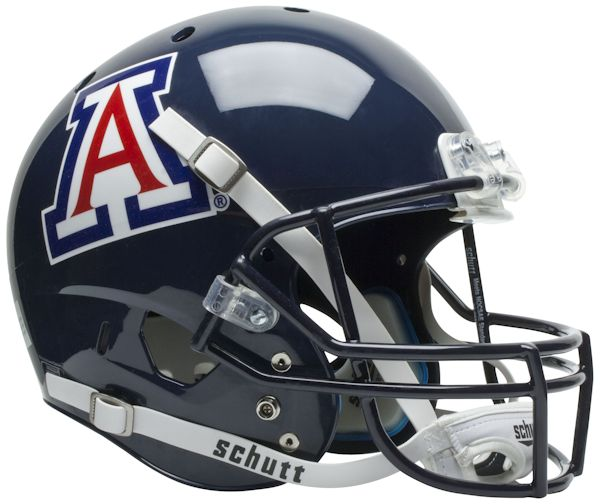 Arizona Wildcats Full XP Replica Football Helmet Schutt