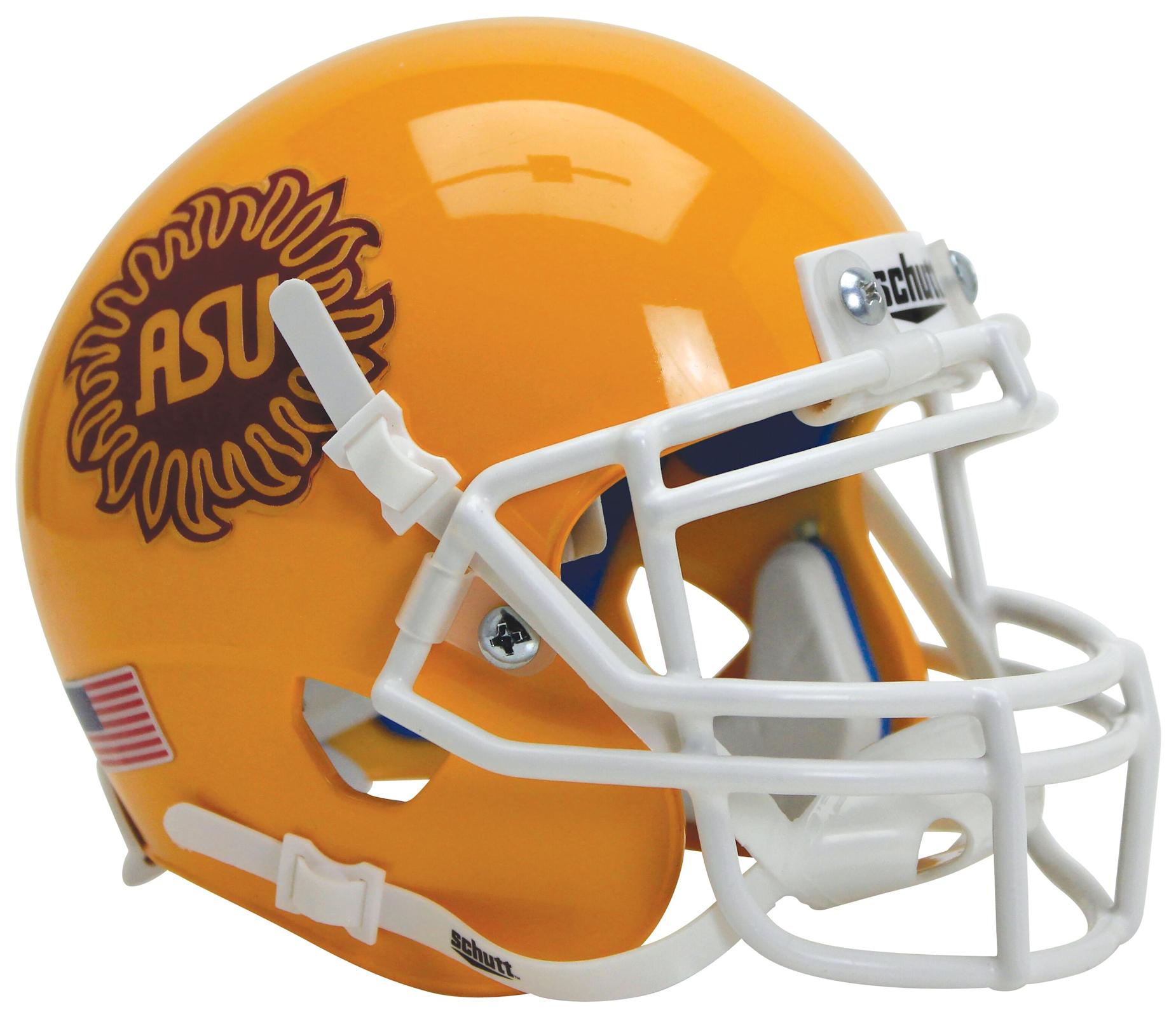 Arizona State Sun Devils Full XP Replica Football Helmet Schutt <B>Sunburst</B>