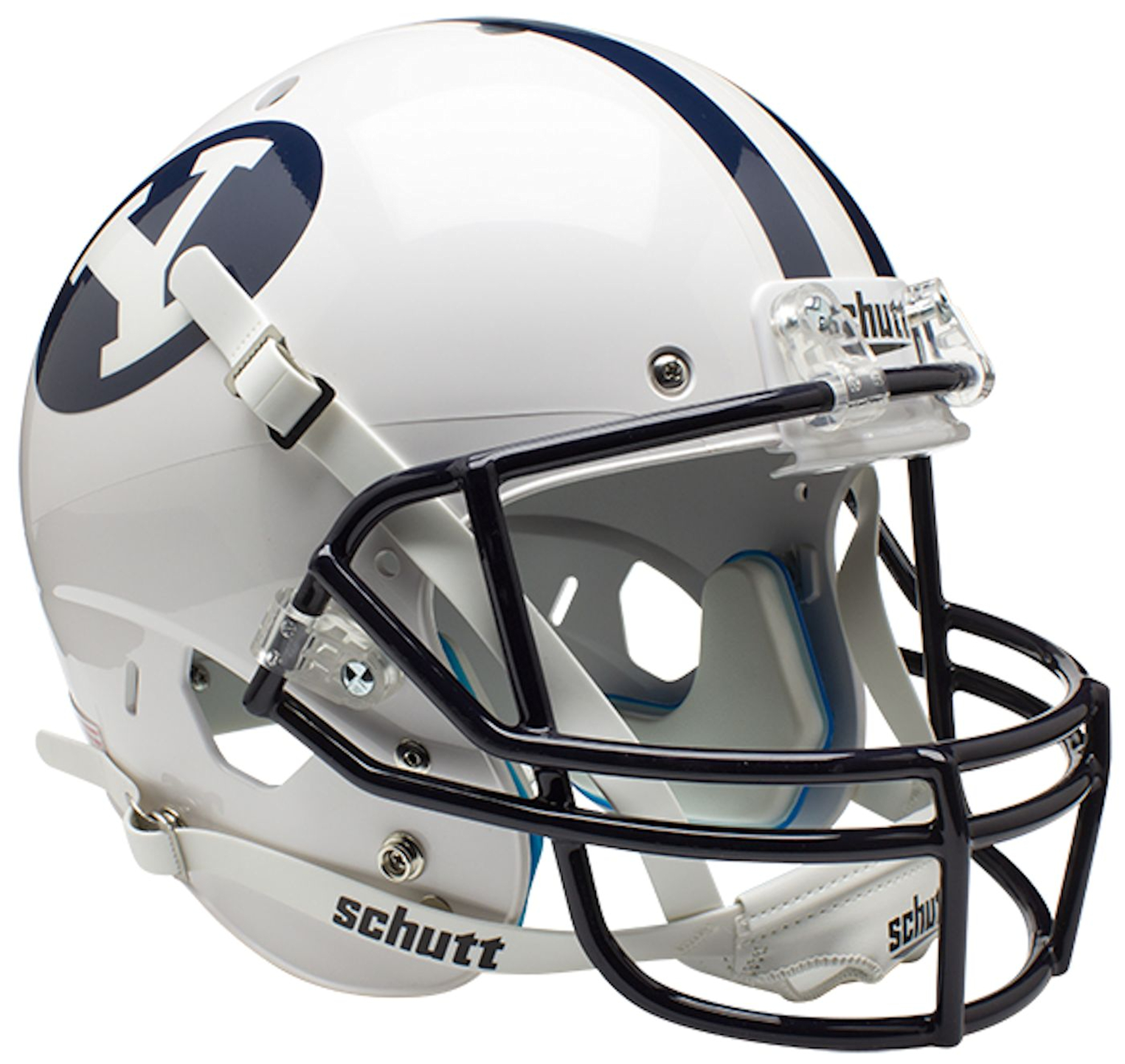 Brigham Young Cougars Full XP Replica Football Helmet Schutt