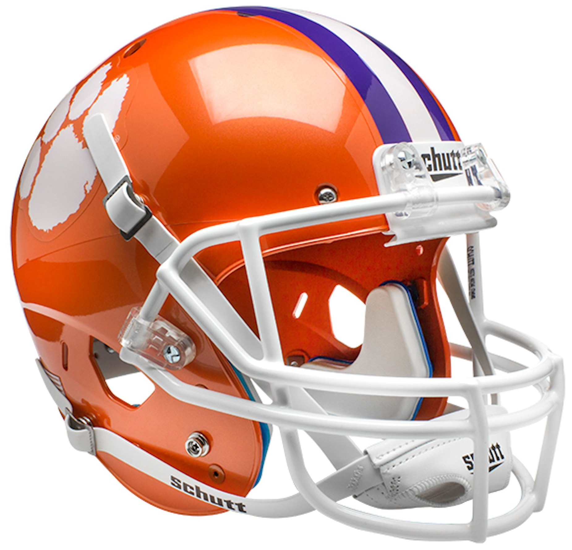 Clemson Tigers Full XP Replica Football Helmet Schutt