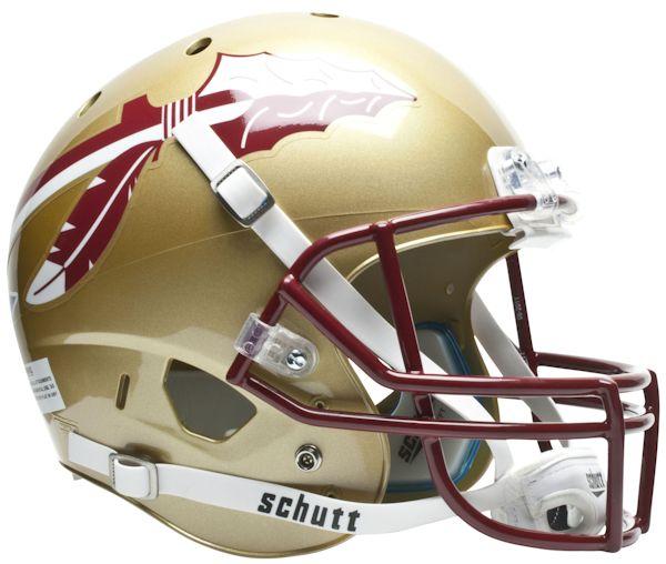 Florida State Seminoles Full XP Replica Football Helmet Schutt