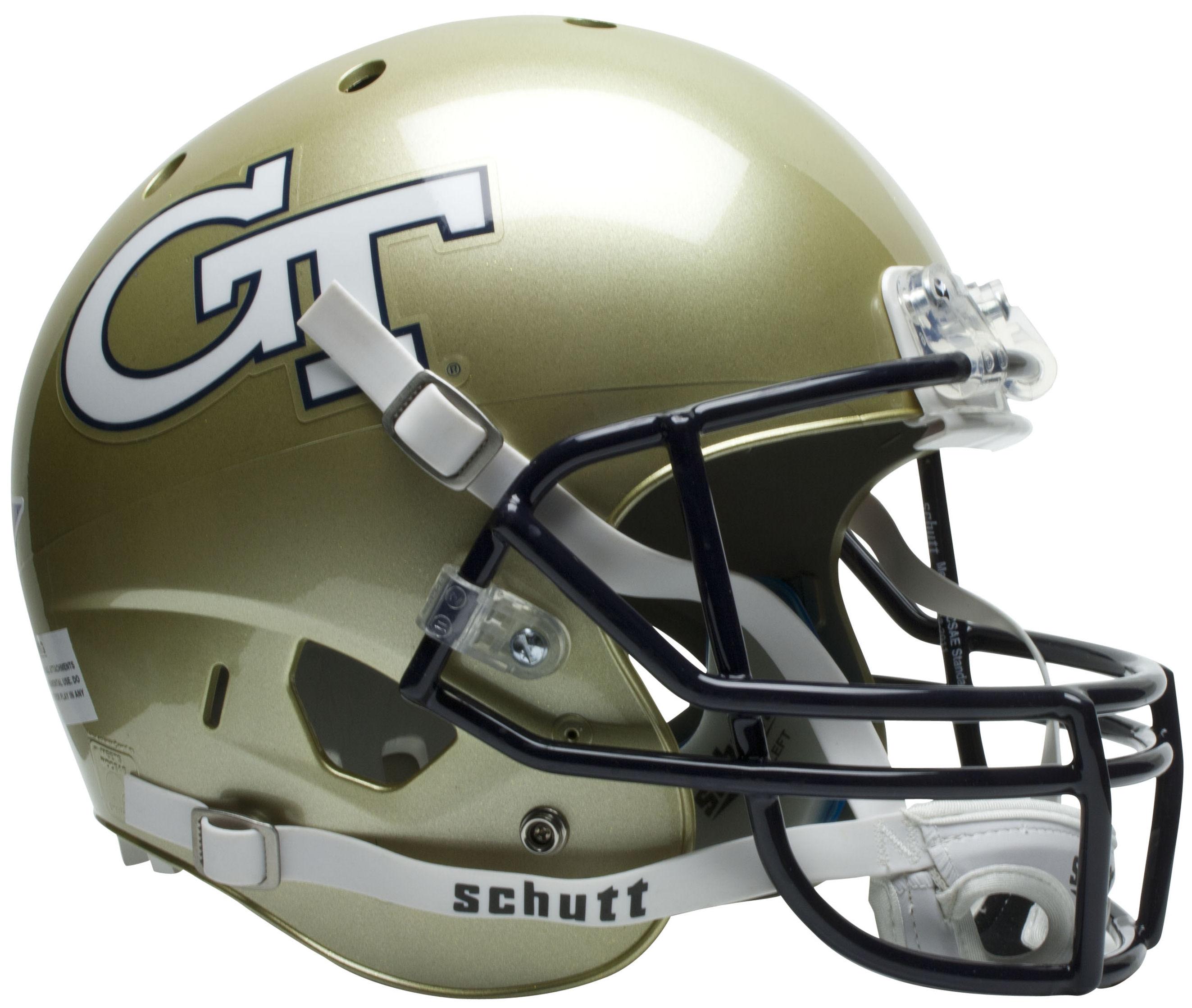 Georgia Tech Yellow Jackets Full XP Replica Football Helmet Schutt