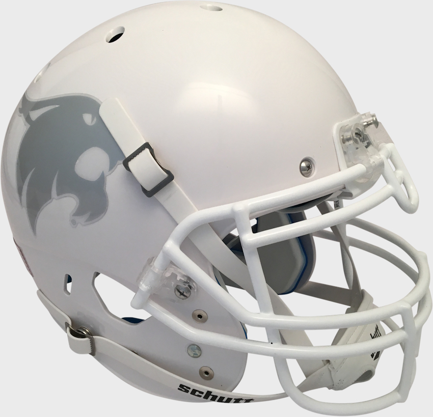 Texas State Bobcats Authentic College XP Football Helmet Schutt <B>White</B>
