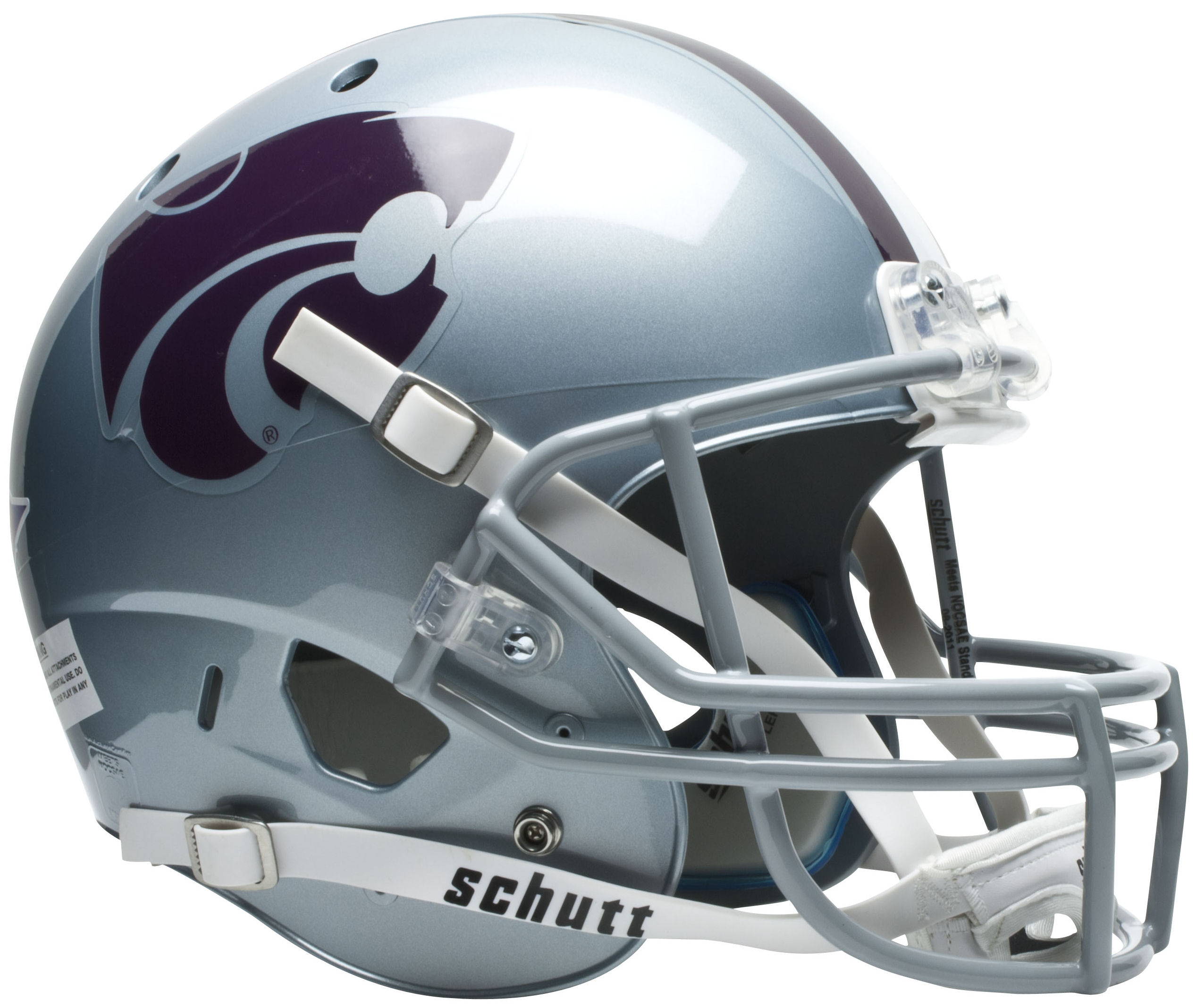 Kansas State Wildcats Full XP Replica Football Helmet Schutt