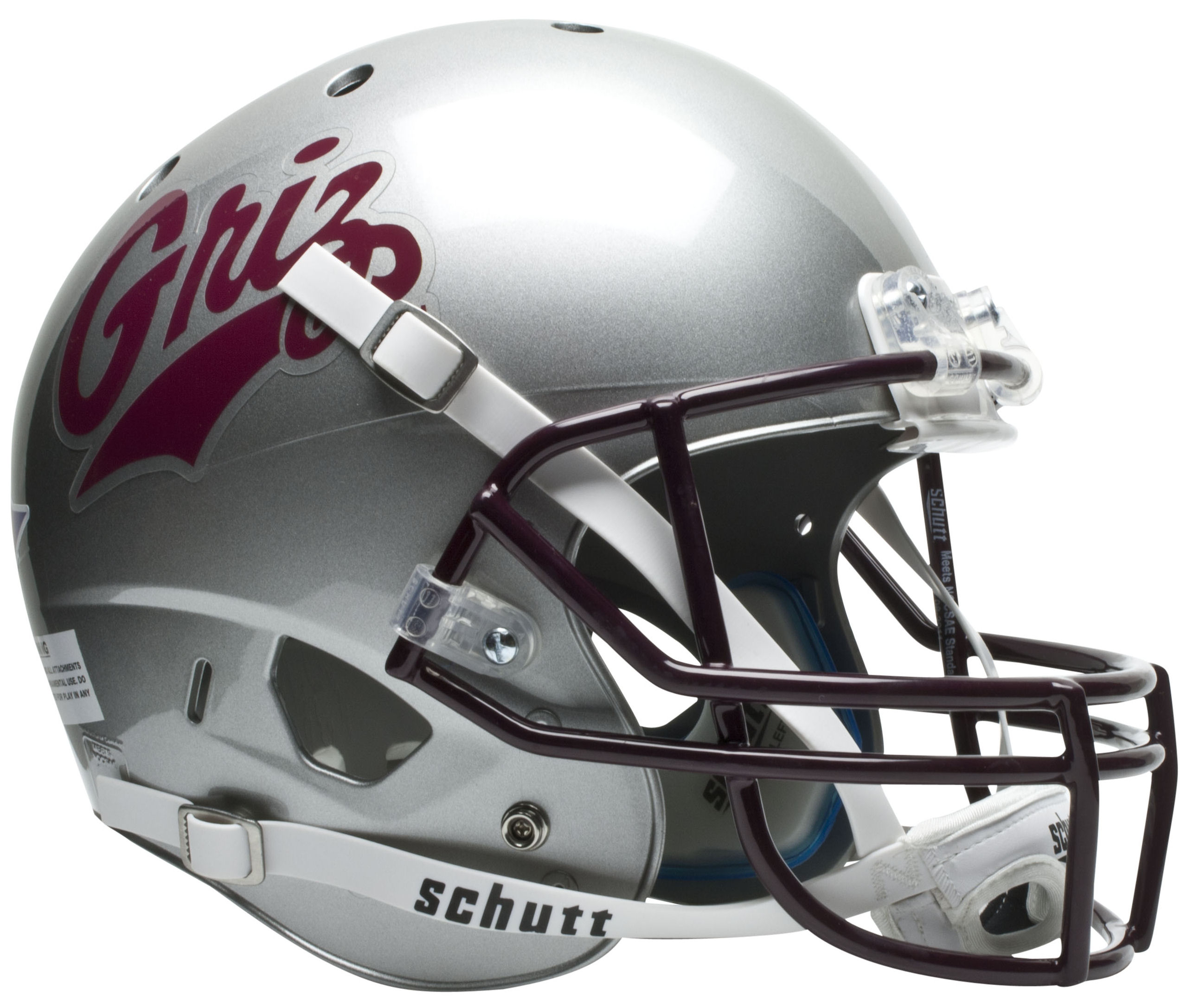 Montana Grizzlies Full XP Replica Football Helmet Schutt