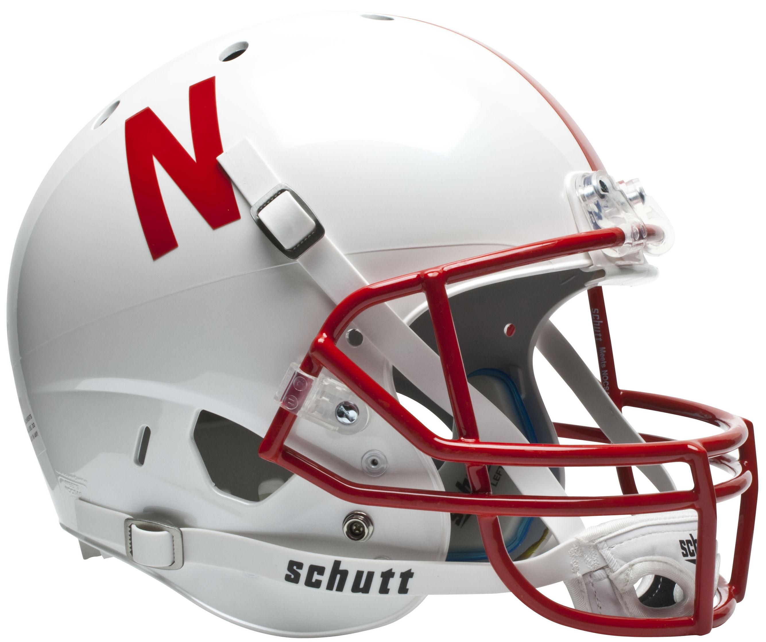 Nebraska Cornhuskers Full XP Replica Football Helmet Schutt