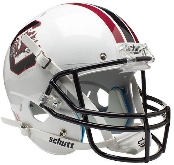 South Carolina Gamecocks Full XP Replica Football Helmet Schutt