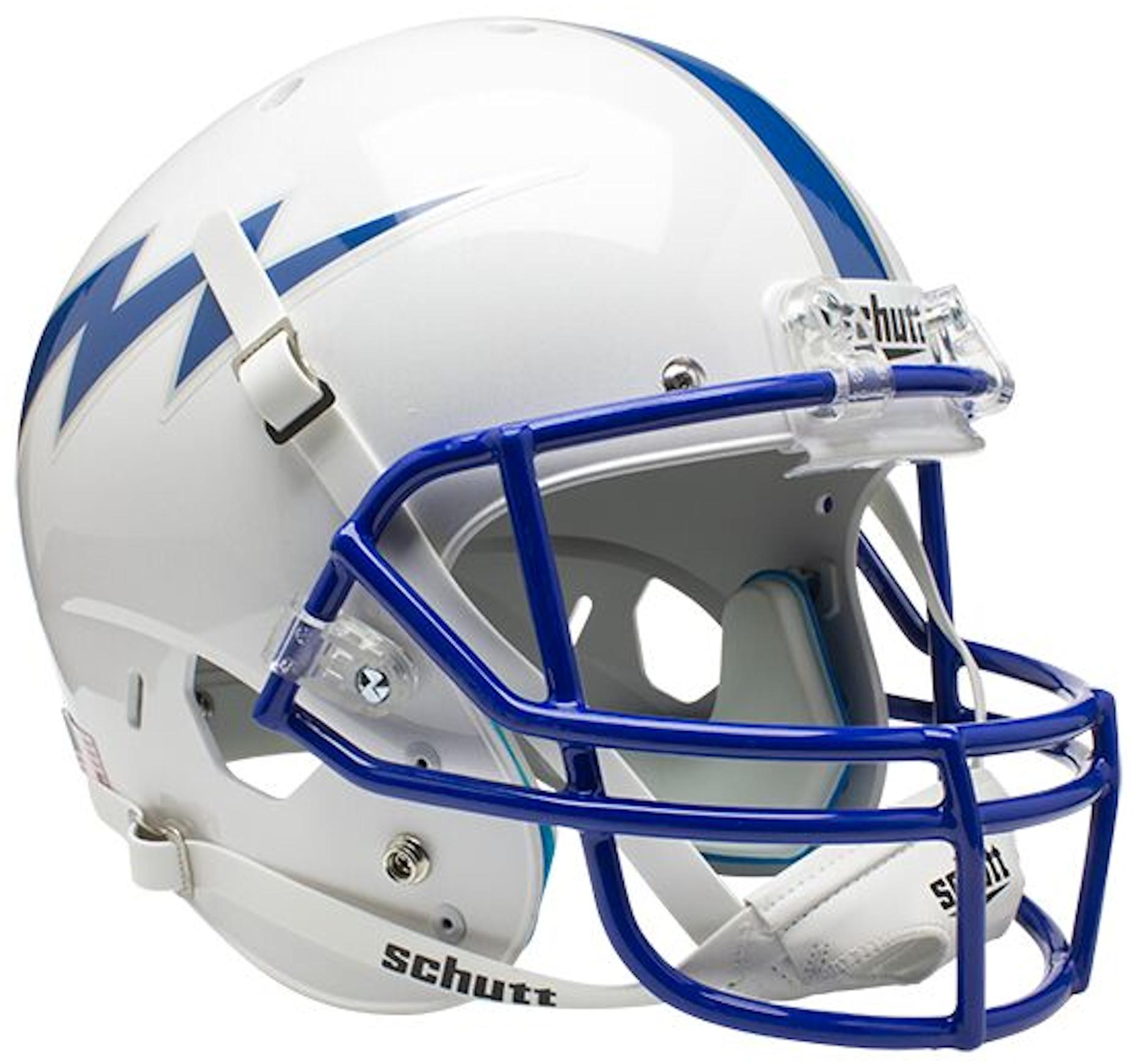 Air Force Falcons Full XP Replica Football Helmet Schutt