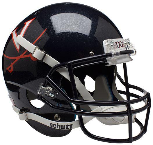 Virginia Cavaliers Full XP Replica Football Helmet Schutt