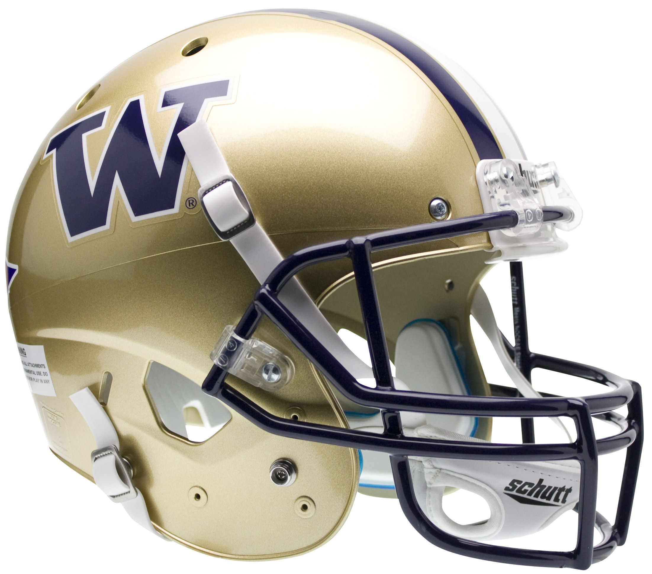 Washington Huskies Full XP Replica Football Helmet Schutt
