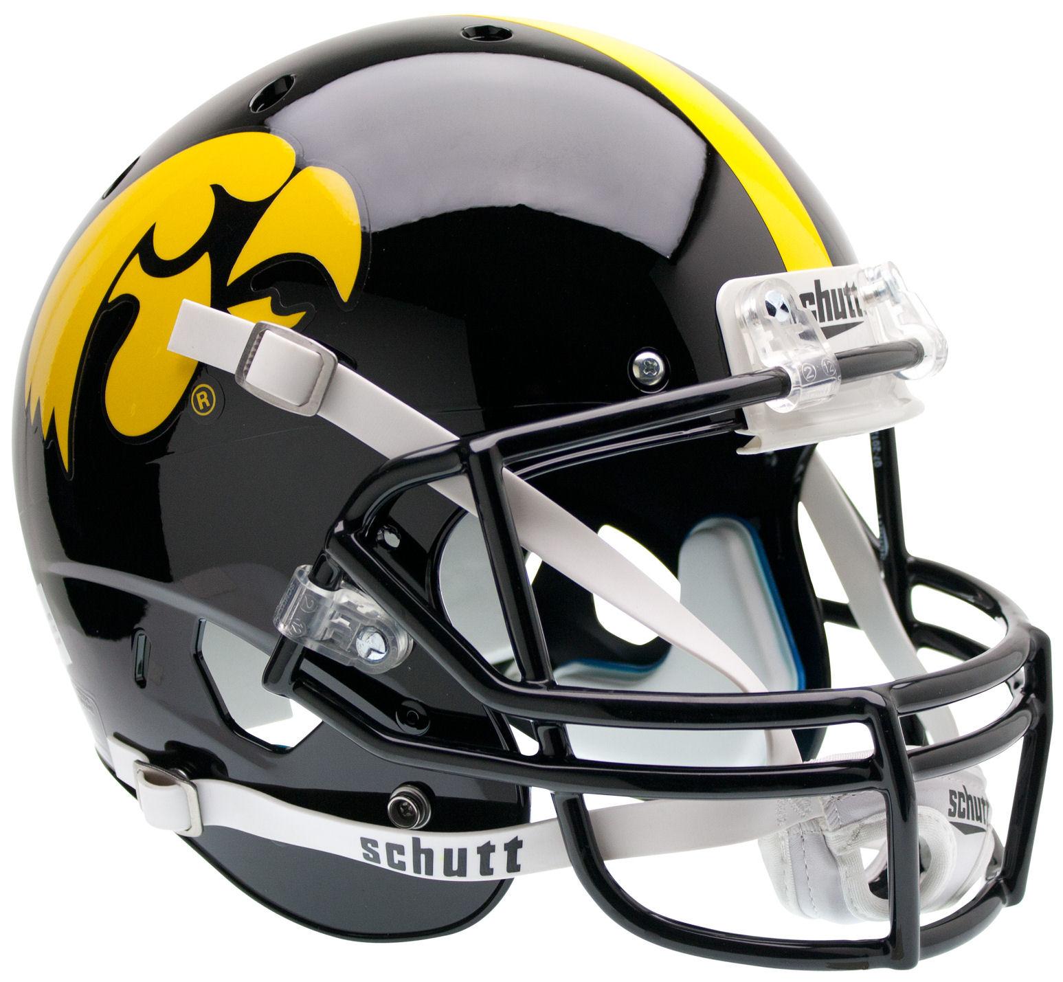 Iowa Hawkeyes Full XP Replica Football Helmet Schutt