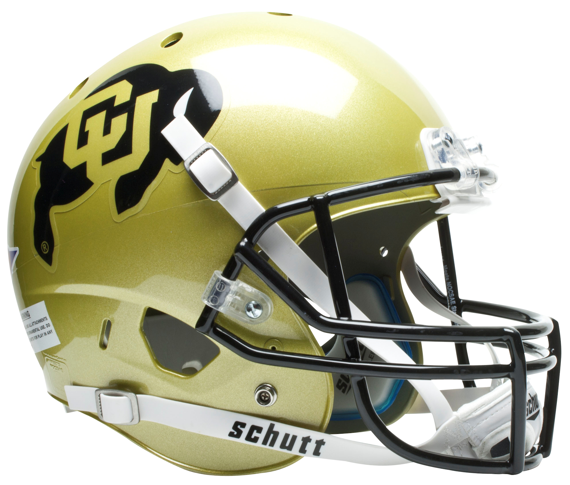 Colorado Buffaloes Full XP Replica Football Helmet Schutt