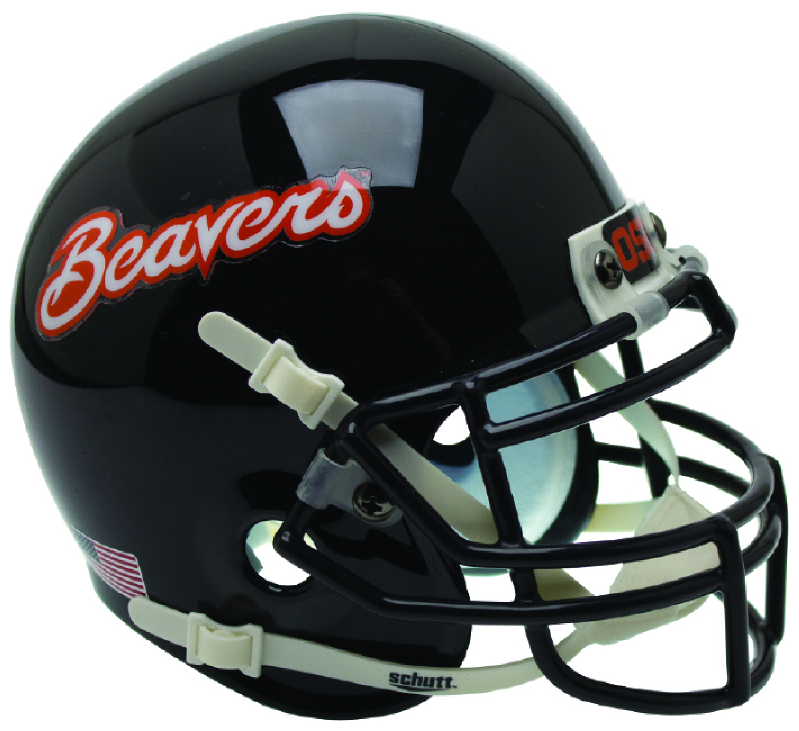 Oregon State Beavers Authentic College XP Football Helmet Schutt <B>Black Beavers</B>