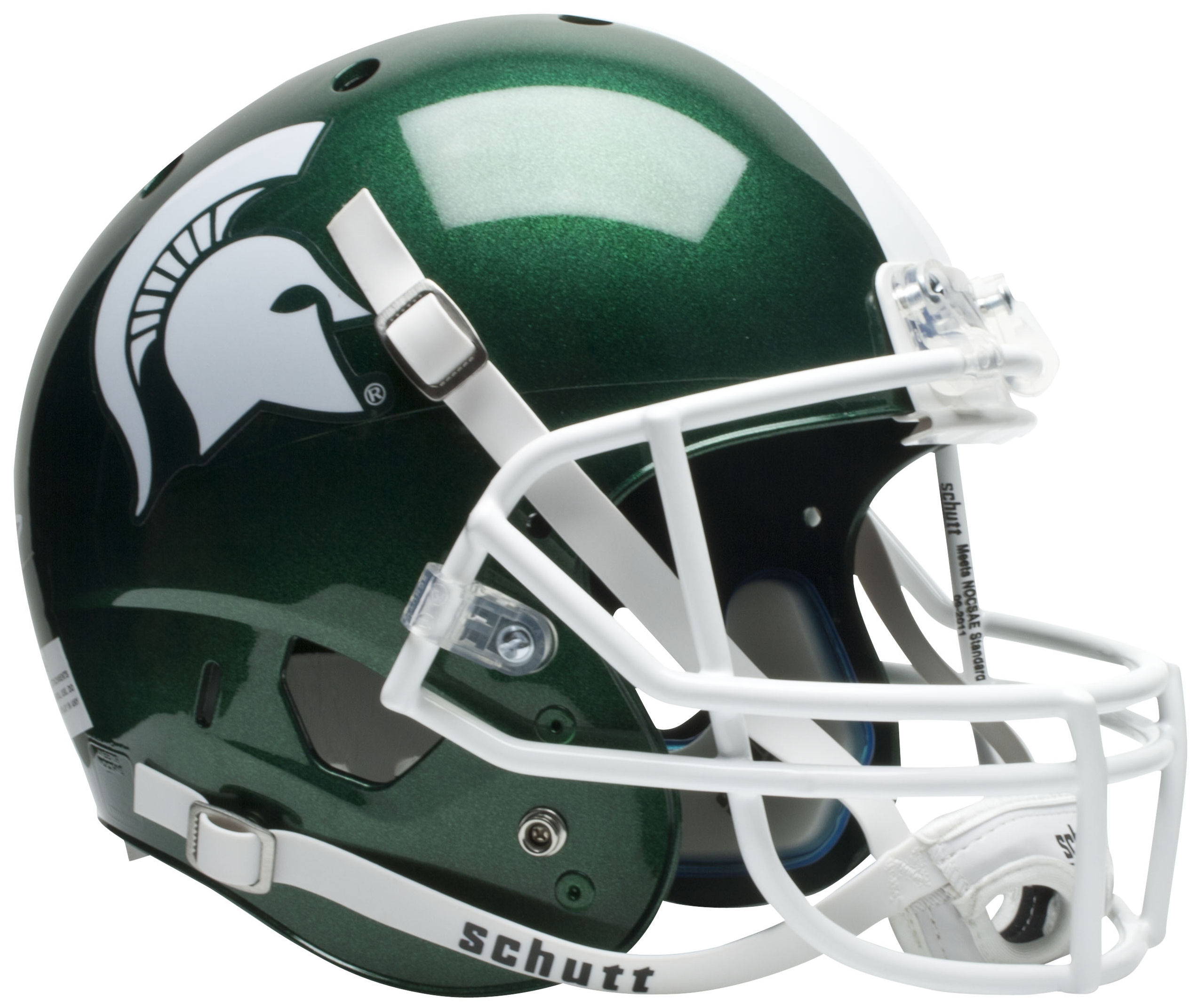 Michigan State Spartans Full XP Replica Football Helmet Schutt