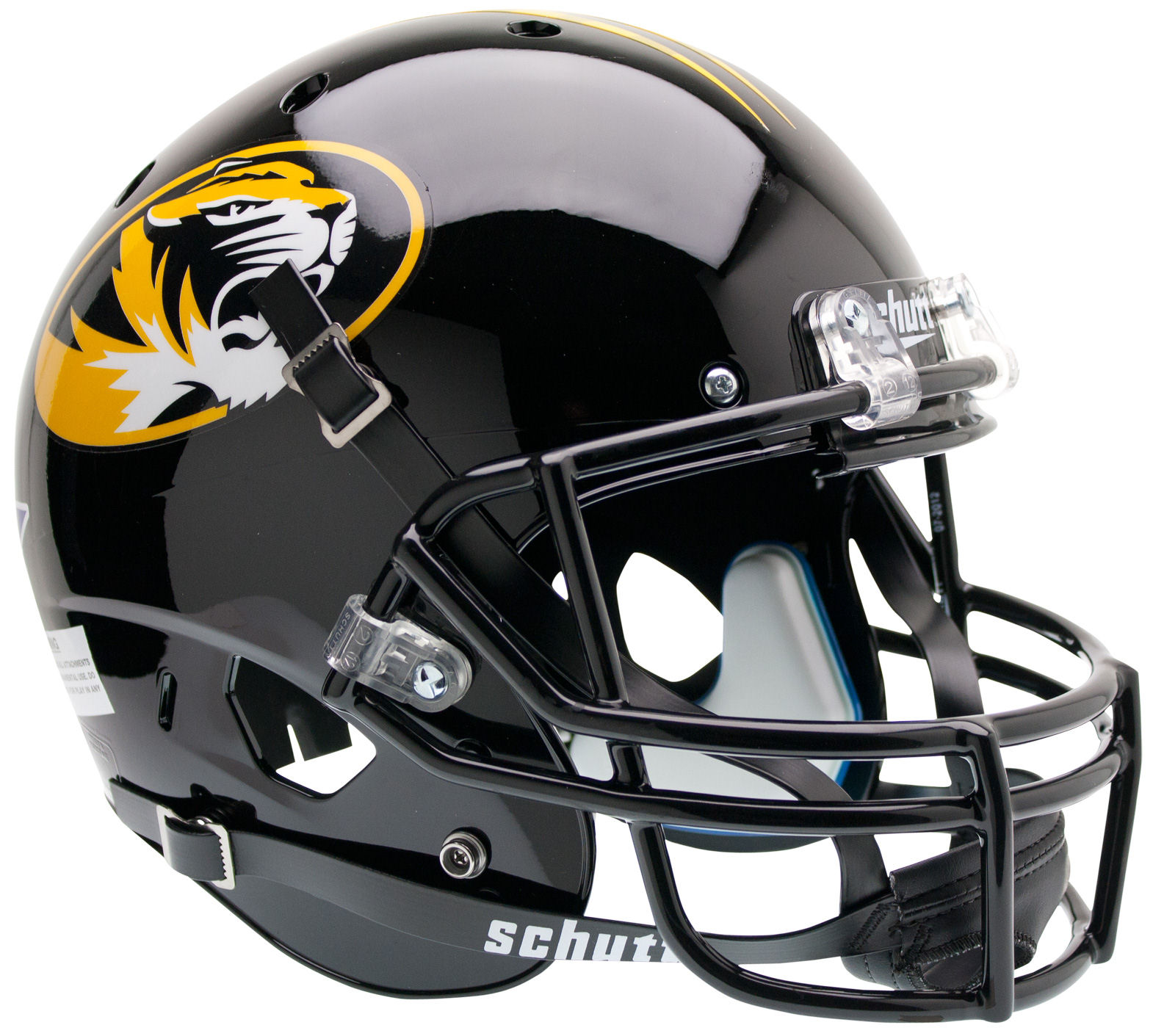 Missouri Tigers Full XP Replica Football Helmet Schutt