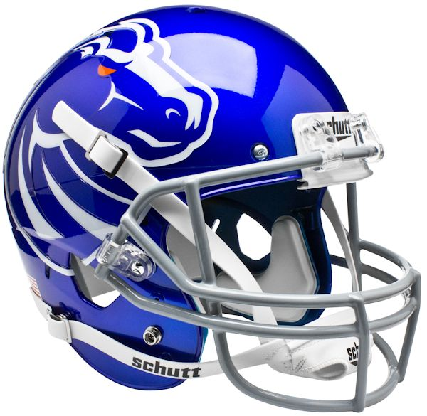 Boise State Broncos Full XP Replica Football Helmet Schutt