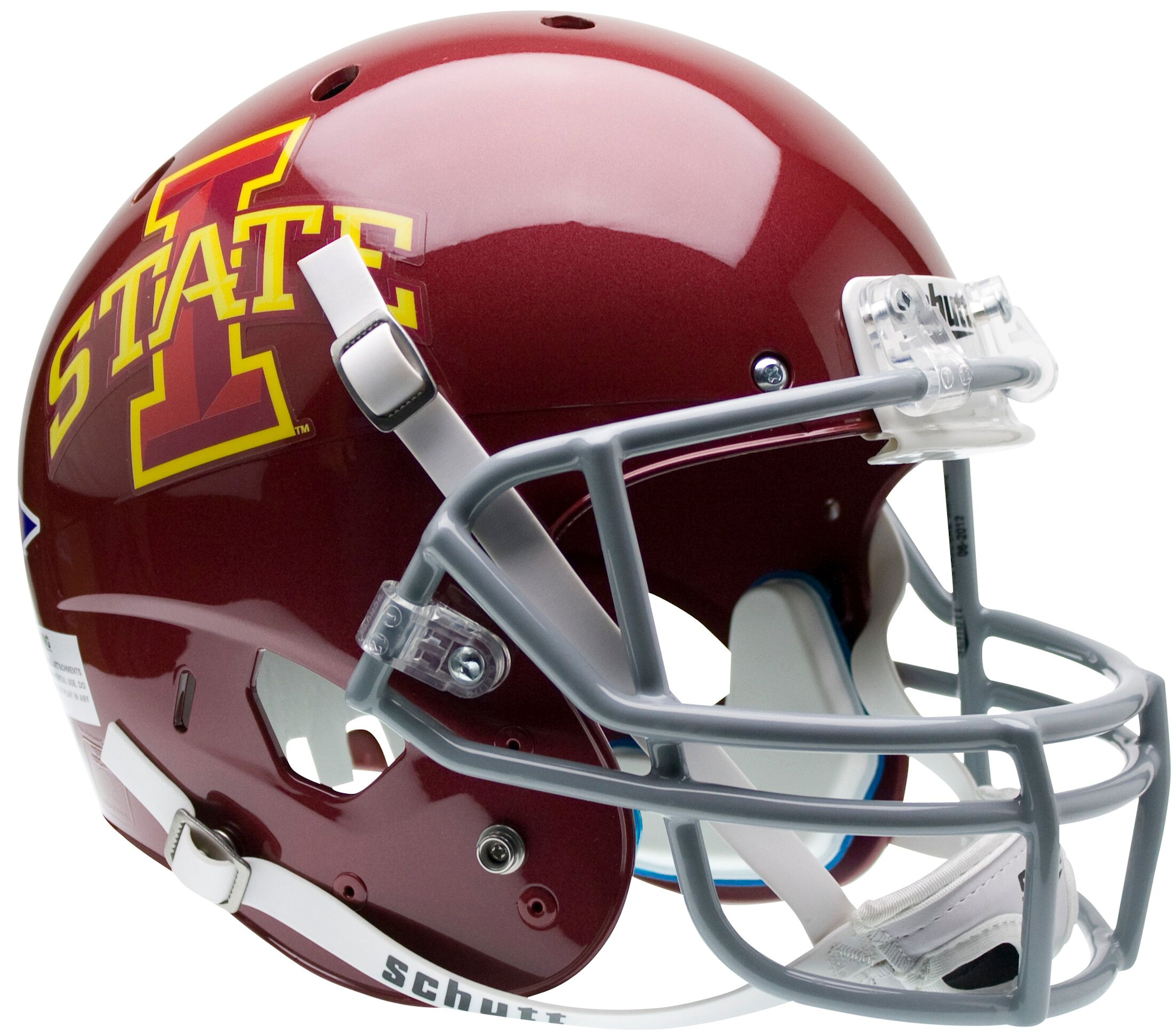 Iowa State Cyclones Full XP Replica Football Helmet Schutt