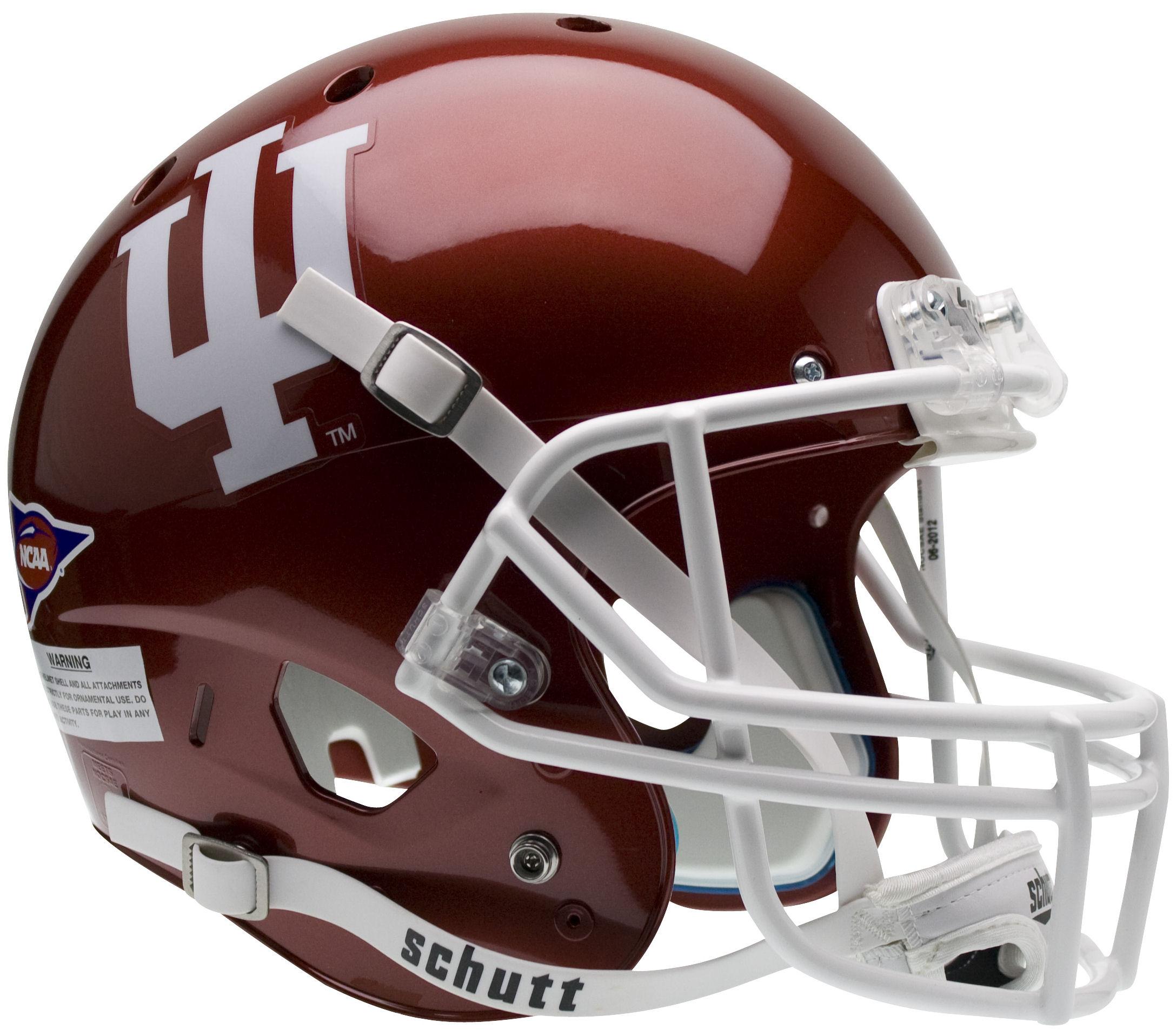 Indiana Hoosiers Full XP Replica Football Helmet Schutt