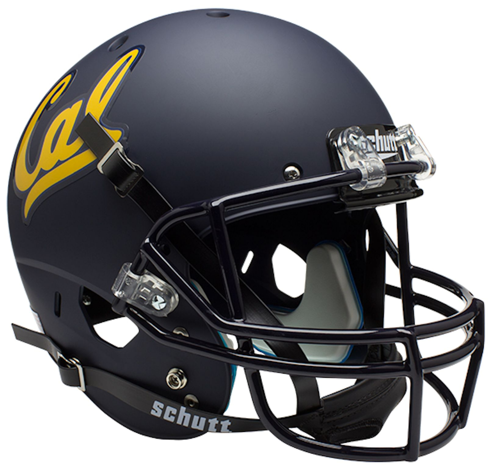California (CAL) Golden Bears Full XP Replica Football Helmet Schutt <B>Matte Navy</B>