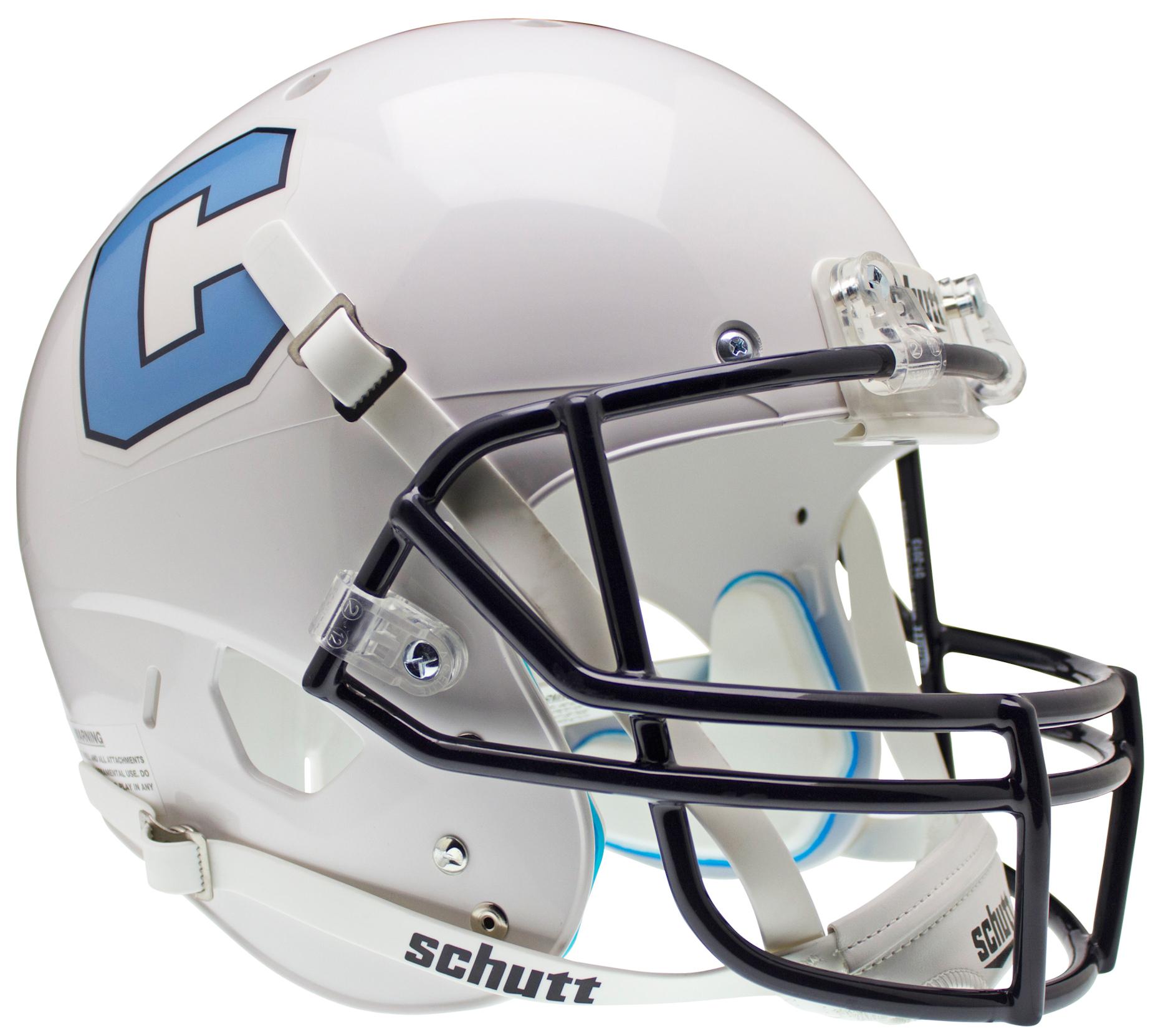 The Citadel Bulldogs Full XP Replica Football Helmet Schutt
