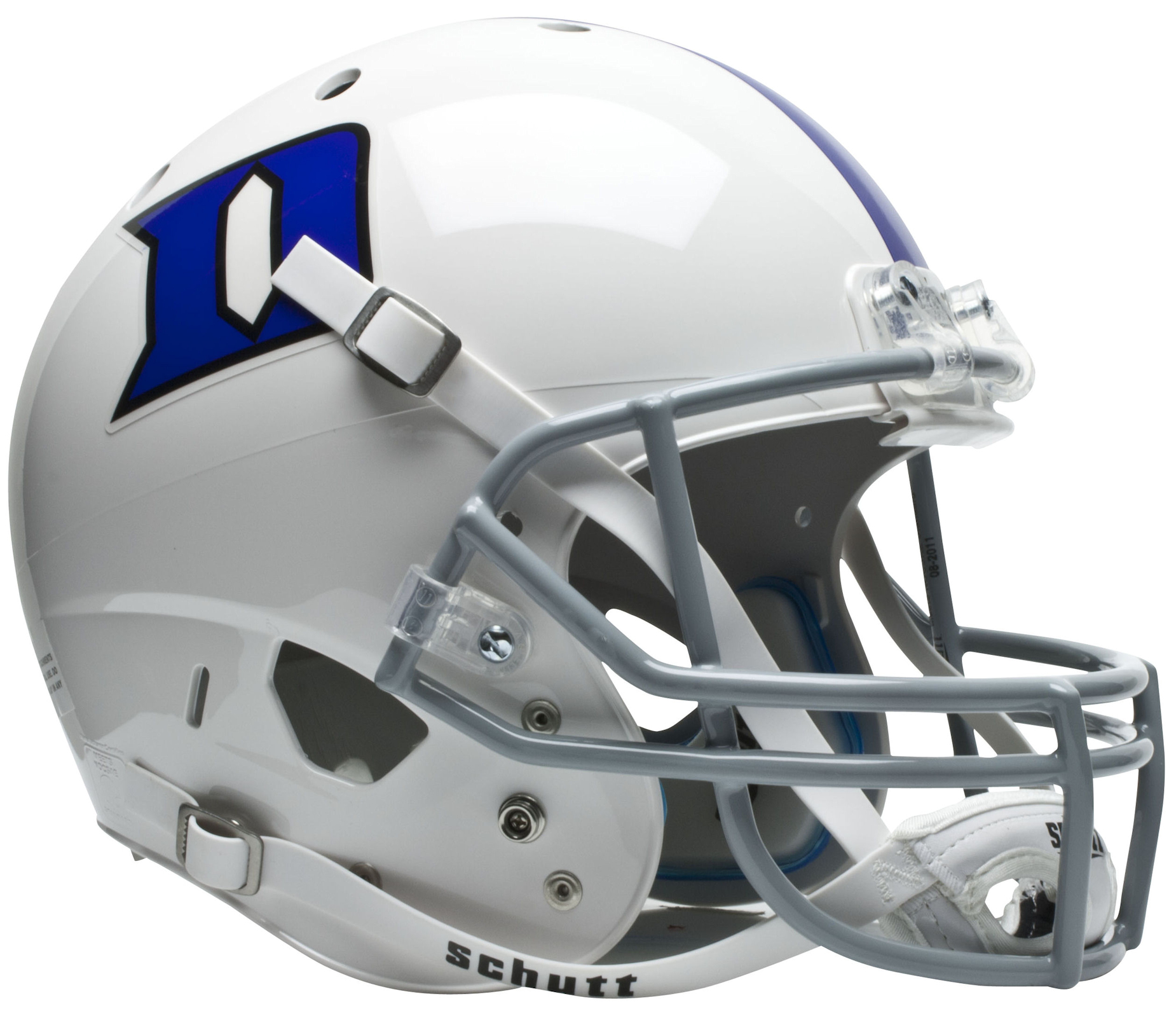 Duke Blue Devils Full XP Replica Football Helmet Schutt